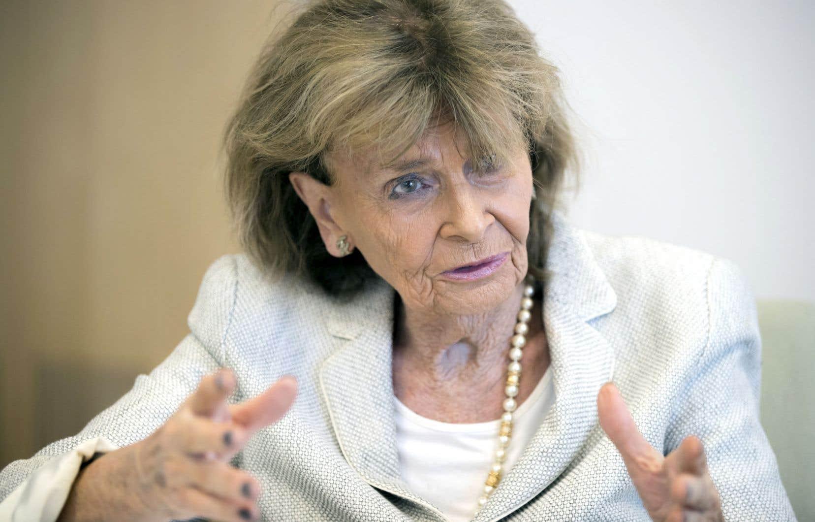 Charlotte Knobloch est présidente de la Communauté juive de Munich et de la Haute-Bavière.