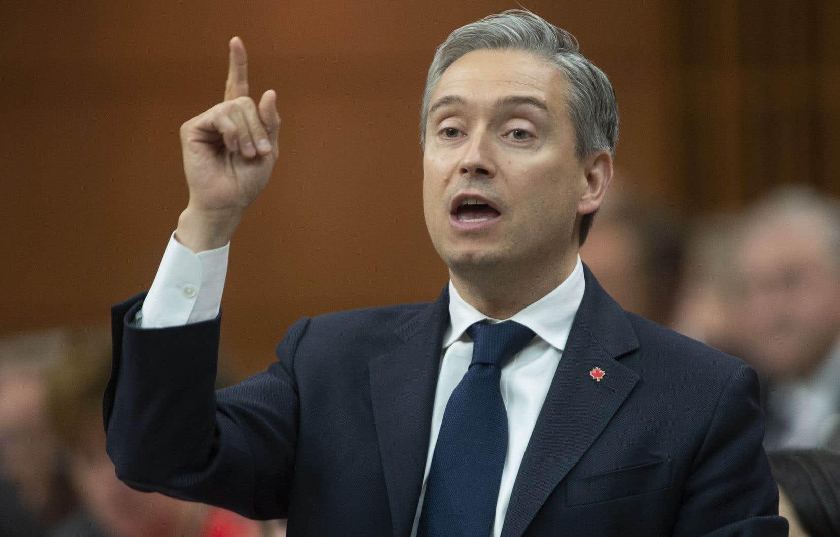 «On a trouvé le juste équilibre», se justifie le ministre fédéral de l'Infrastructure, François-Philippe Champagne.