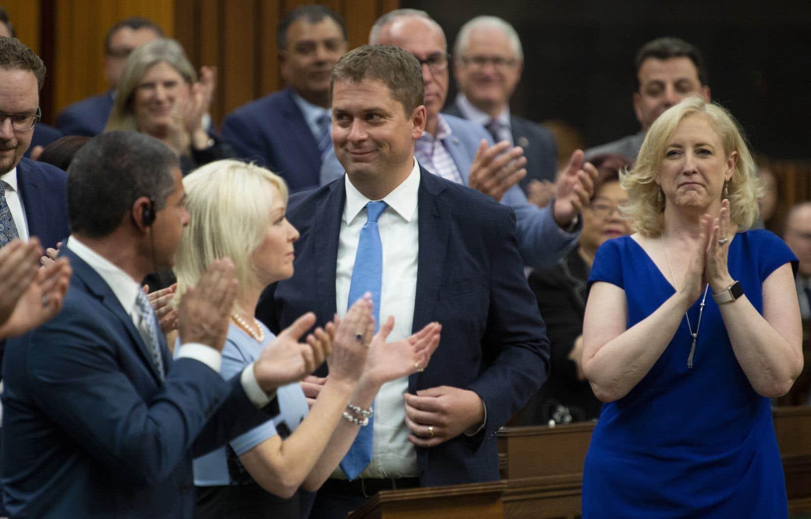 Le chef conservateur Andrew Scheer