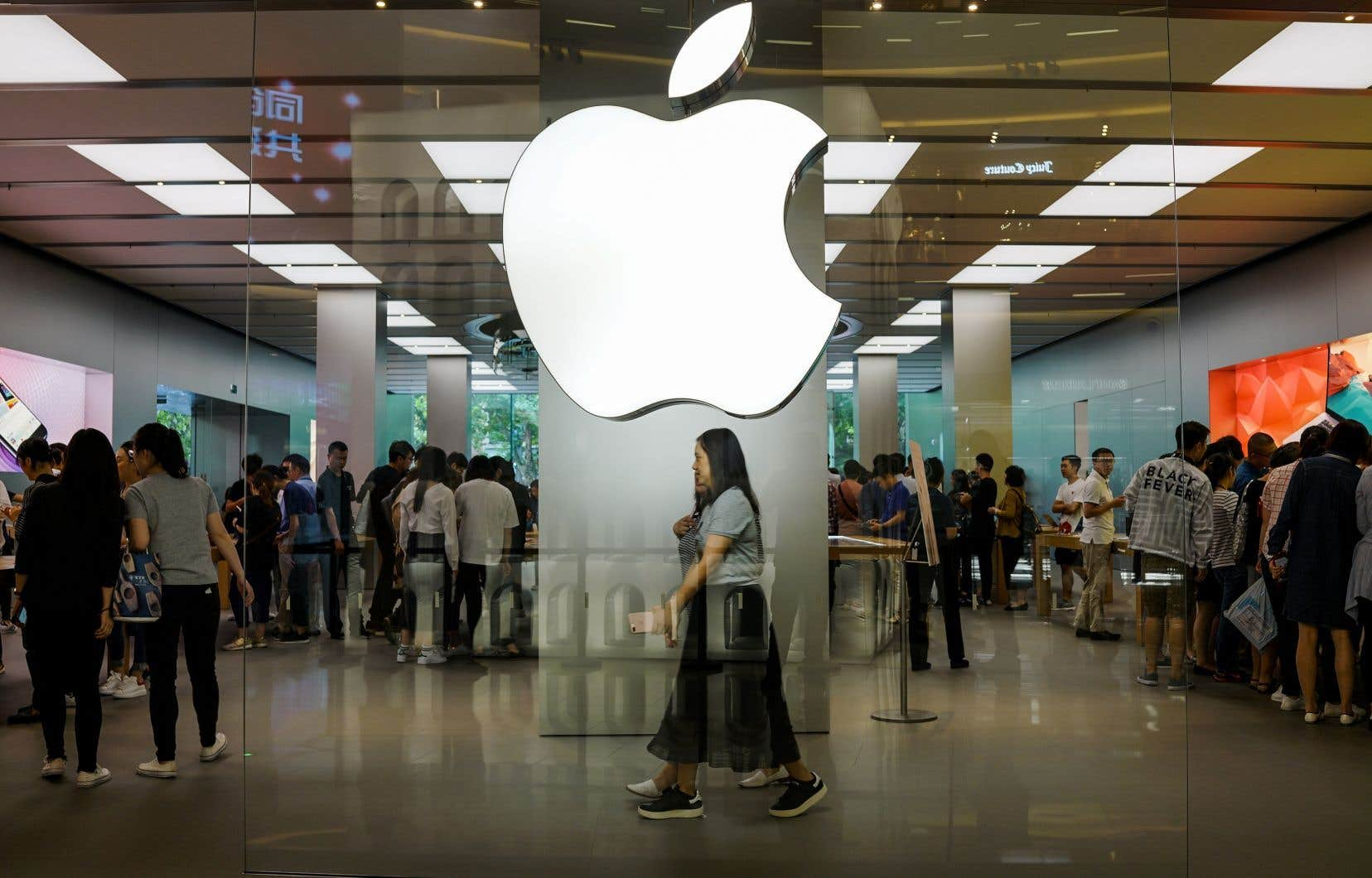 La requête d'Apple s'inscrit dans un contexte de guerre commerciale entre la Chine et les États-Unis.