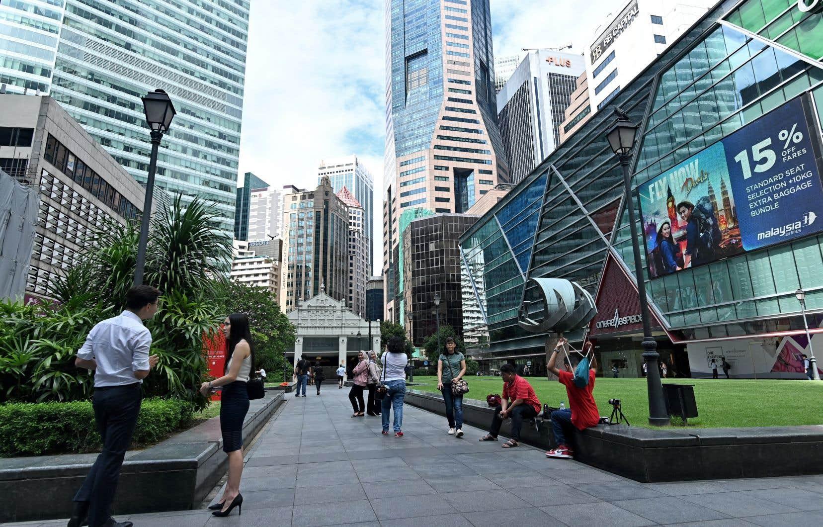 Singapour est considéré comme respectueux de l'État de droit, un atout clé pour attirer les investisseurs.