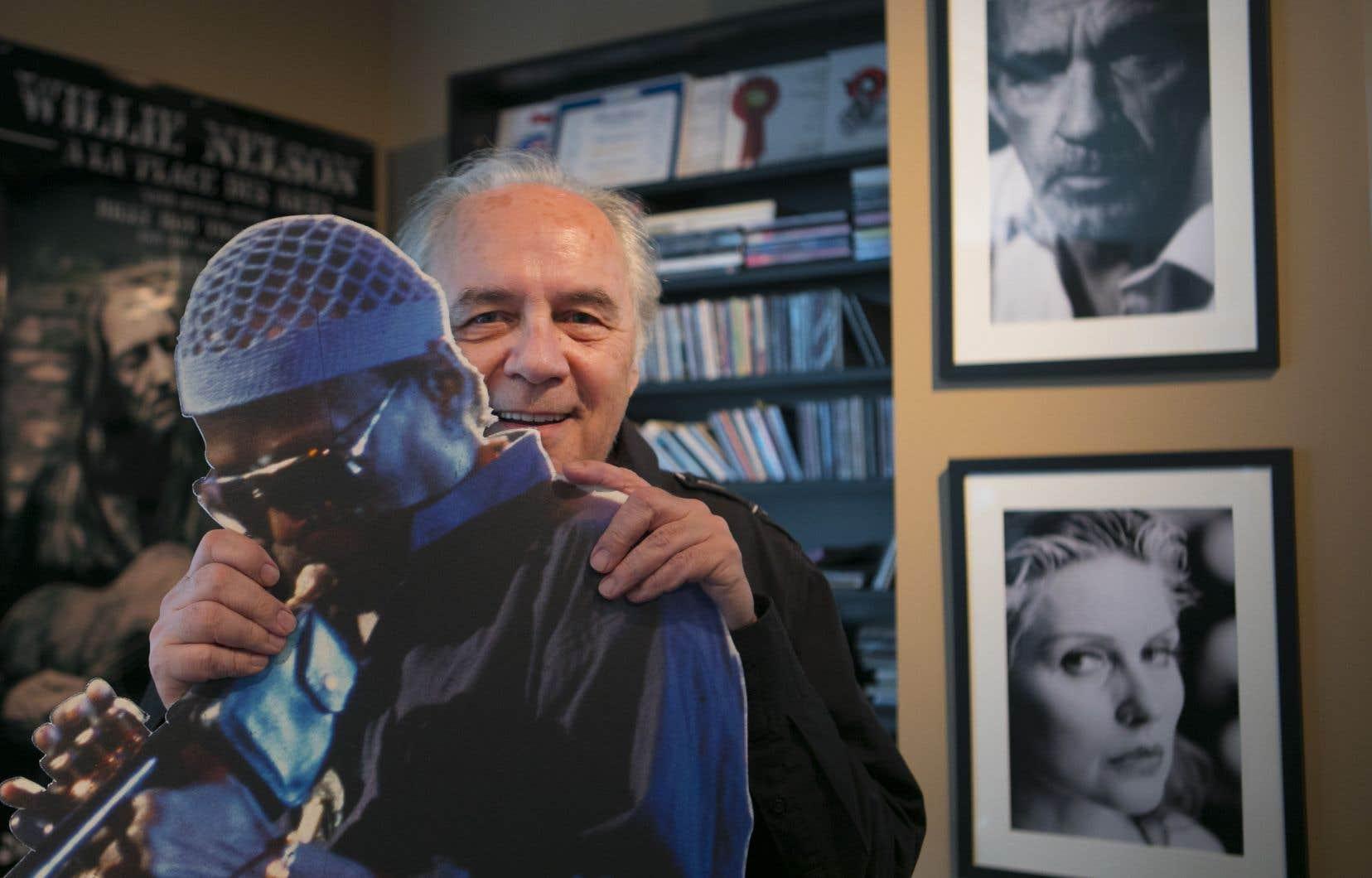 La carrière qu'André Ménard a bâtie autour de sa passion pour la musique s'est construite de la même manière que le jazz fonctionne: avec beaucoup d'improvisation.