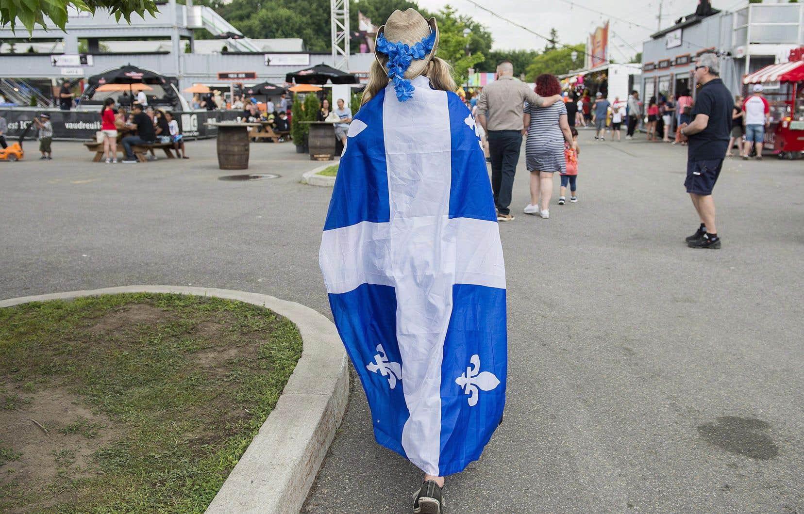 Le nationalisme québécois est perçu positivement par une très large part de la population francophone.