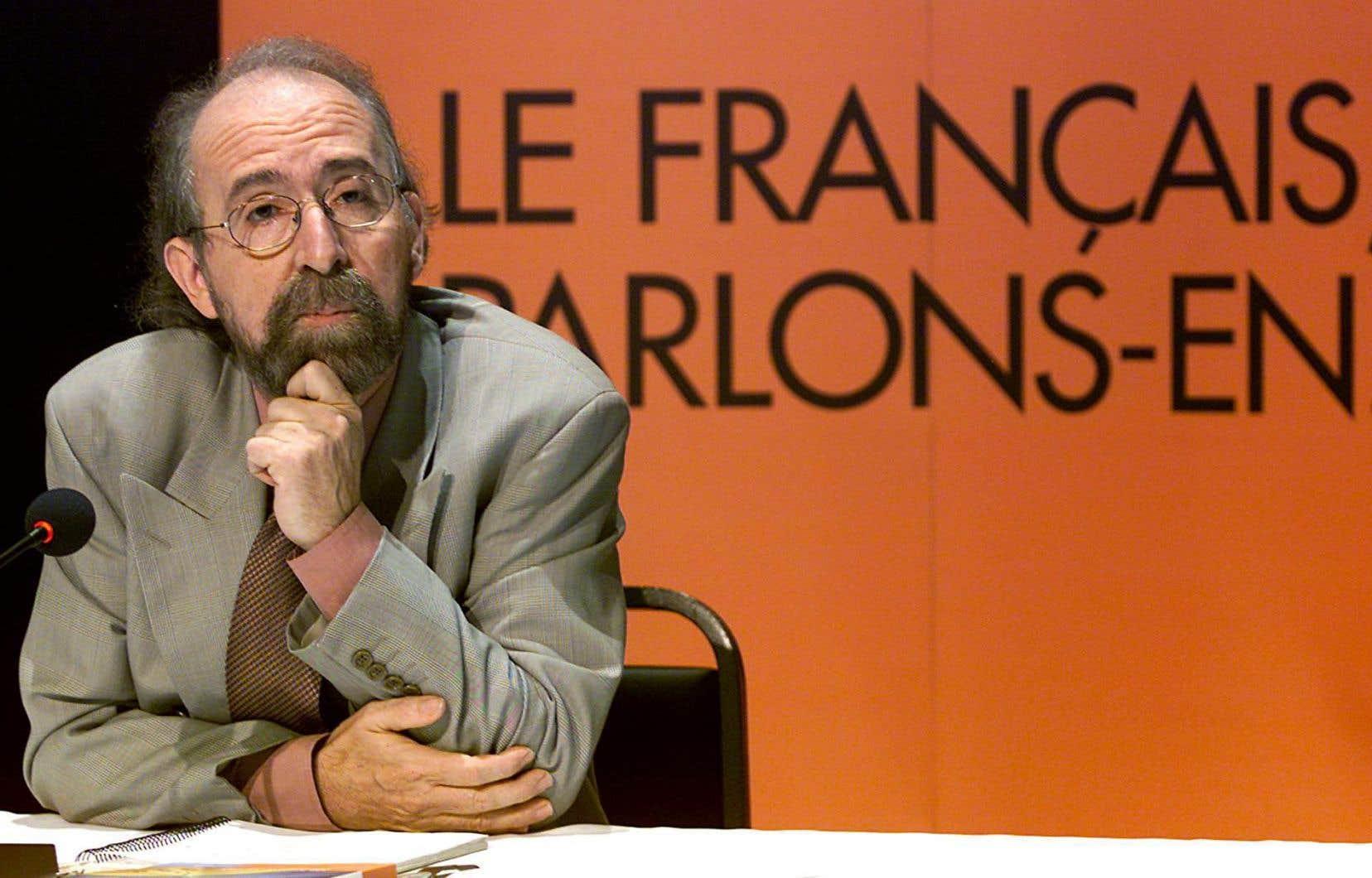 Gérald Larose en 2001