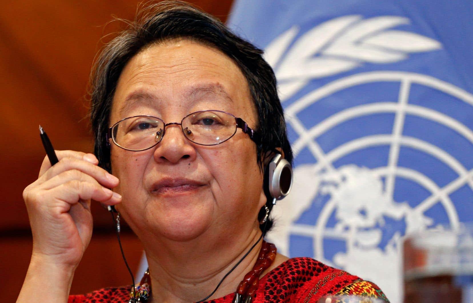L'auteur estime qu'une déclaration de la rapporteuse spéciale sur les droits des peuples autochtones Victoria Tauli-Corpuz témoigne de son incompréhension du droit international.