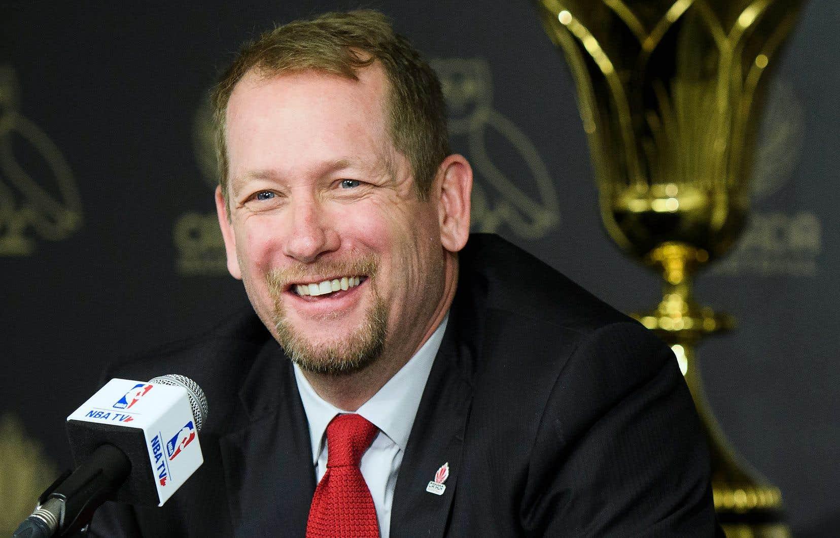 Nick Nurse, entraîneur-chef des Raptors de Toronto