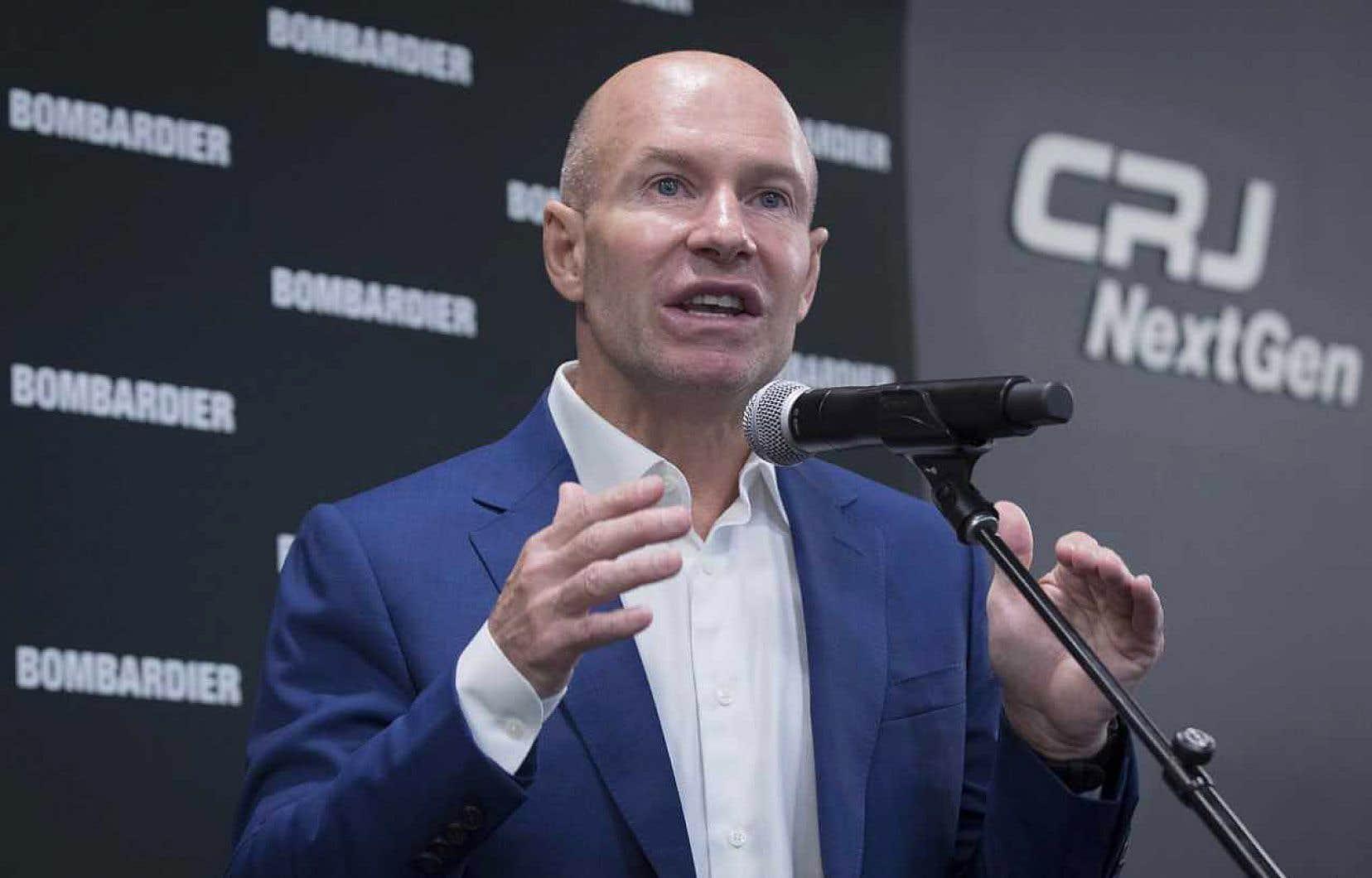 Environ 400 personnes devront se chercher un nouvel emploi en raison de la vente du programme d'avions régionaux CRJ, a indiqué le président de Bombardier, Alain Bellemare, mardi, en conférence de presse à Mirabel.