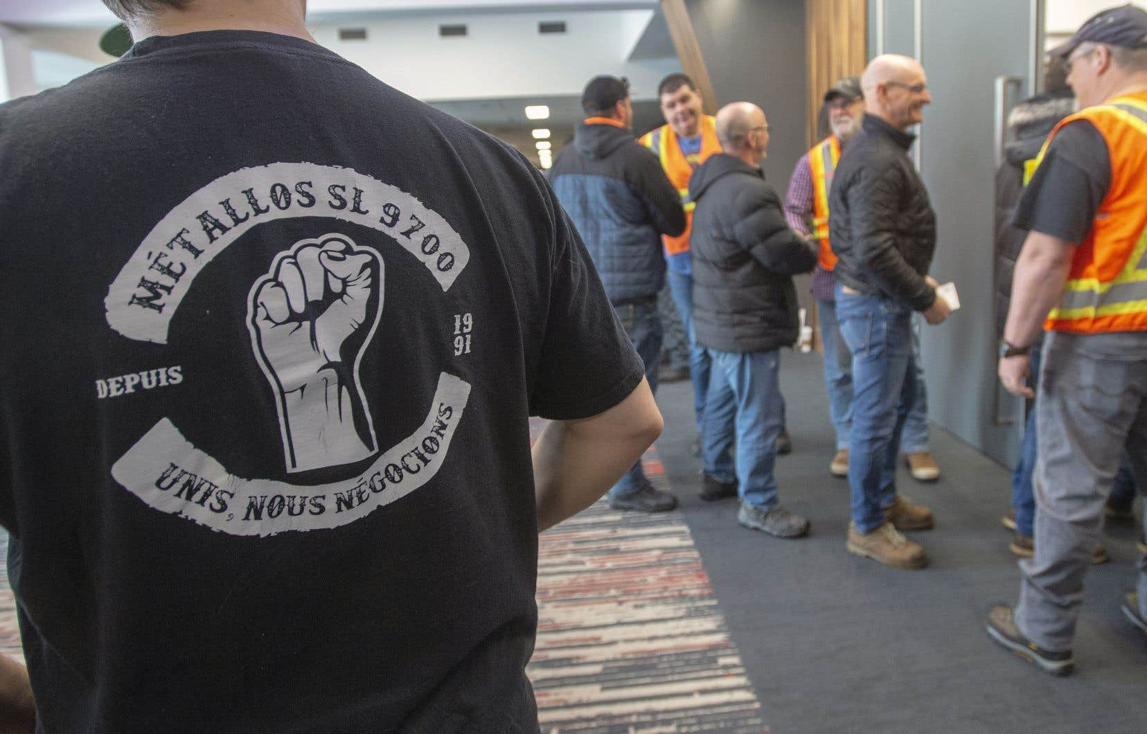 Les 1030 travailleurs d'ABI ont été mis en lockout le 11janvier 2018.