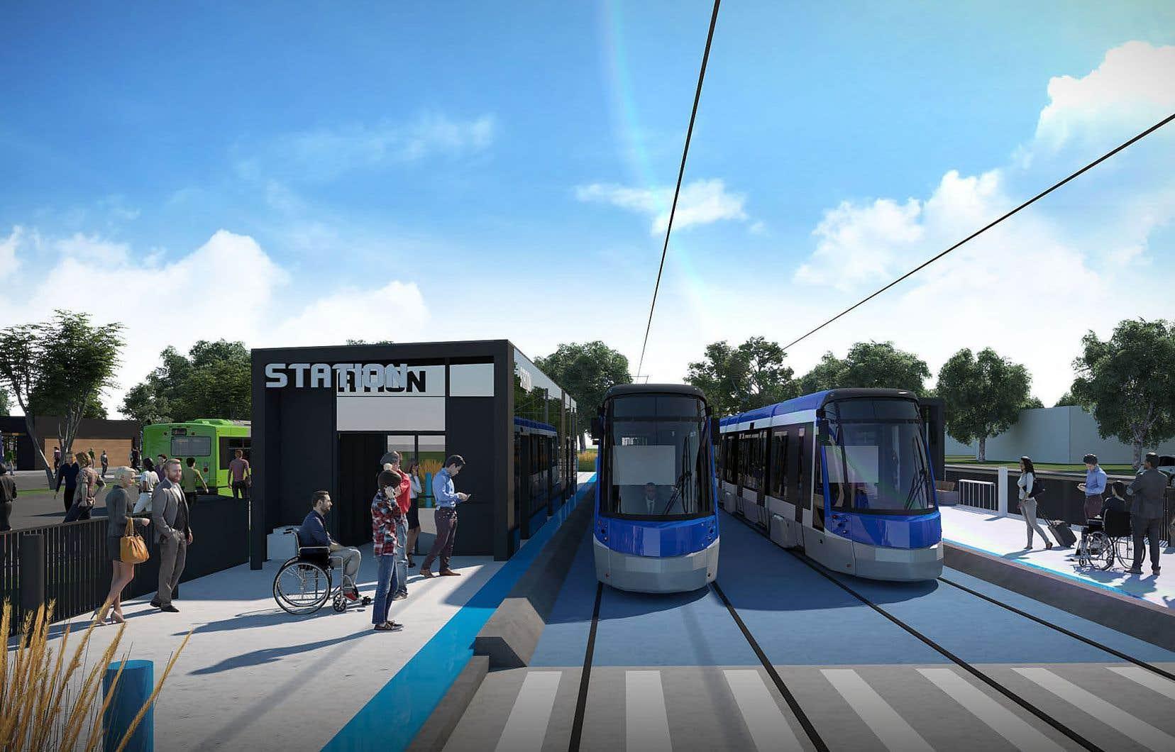 La Ville de Québec pourra réaliser son projet de tramway à la suite d'une entente conclue avec Montréal qui donne accès à la première à un financement fédéral de 800 millions qui était destiné à la seconde.