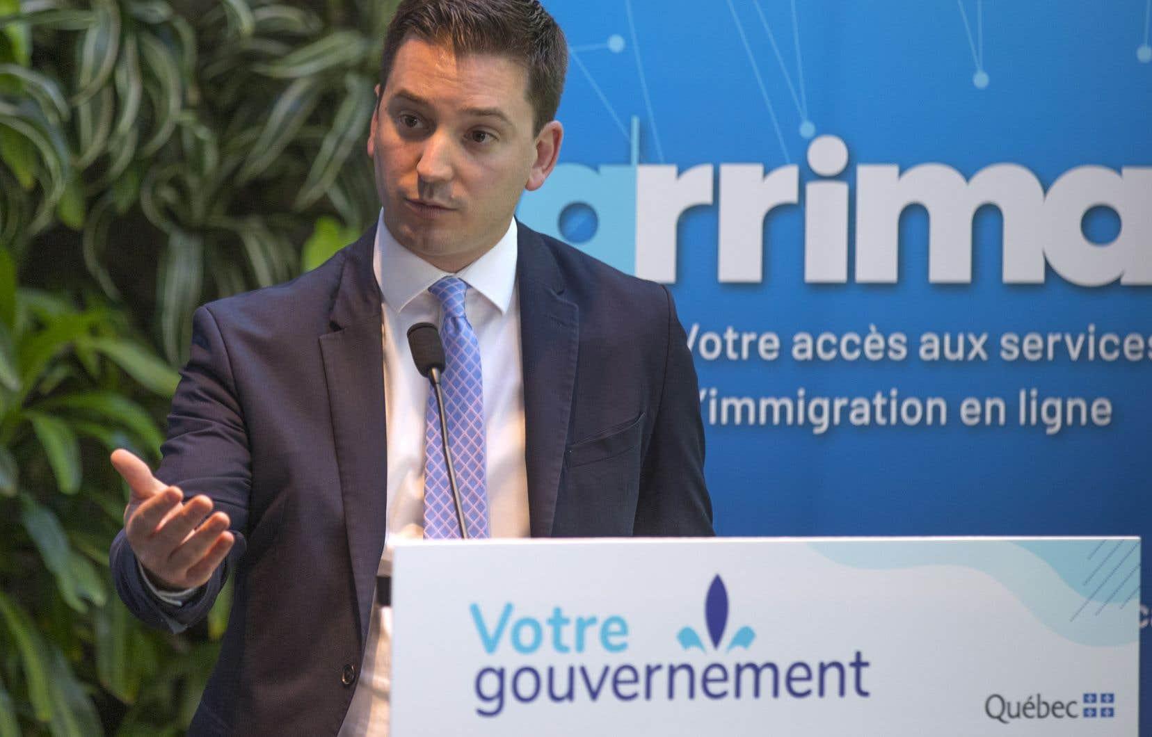 «Vous avez été patients. [...]La grande réforme de l'immigration est déjà en marche. C'est un nouveau départ», a lancé le ministre Simon Jolin-Barrette à des représentants du monde des affaires et de l'immigration réunis jeudi à Montréal.