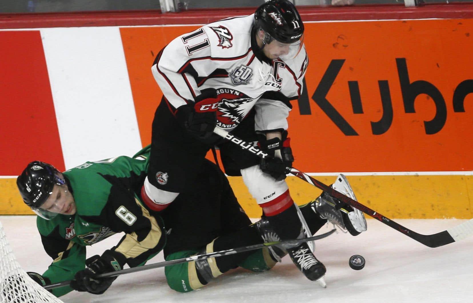 Rafaël Harvey-Pinard a guidé les Huskies de Rouyn-Noranda vers une saison record de 59-8-1, puis des triomphes en finale de la Coupe du président et de la coupe Memorial.