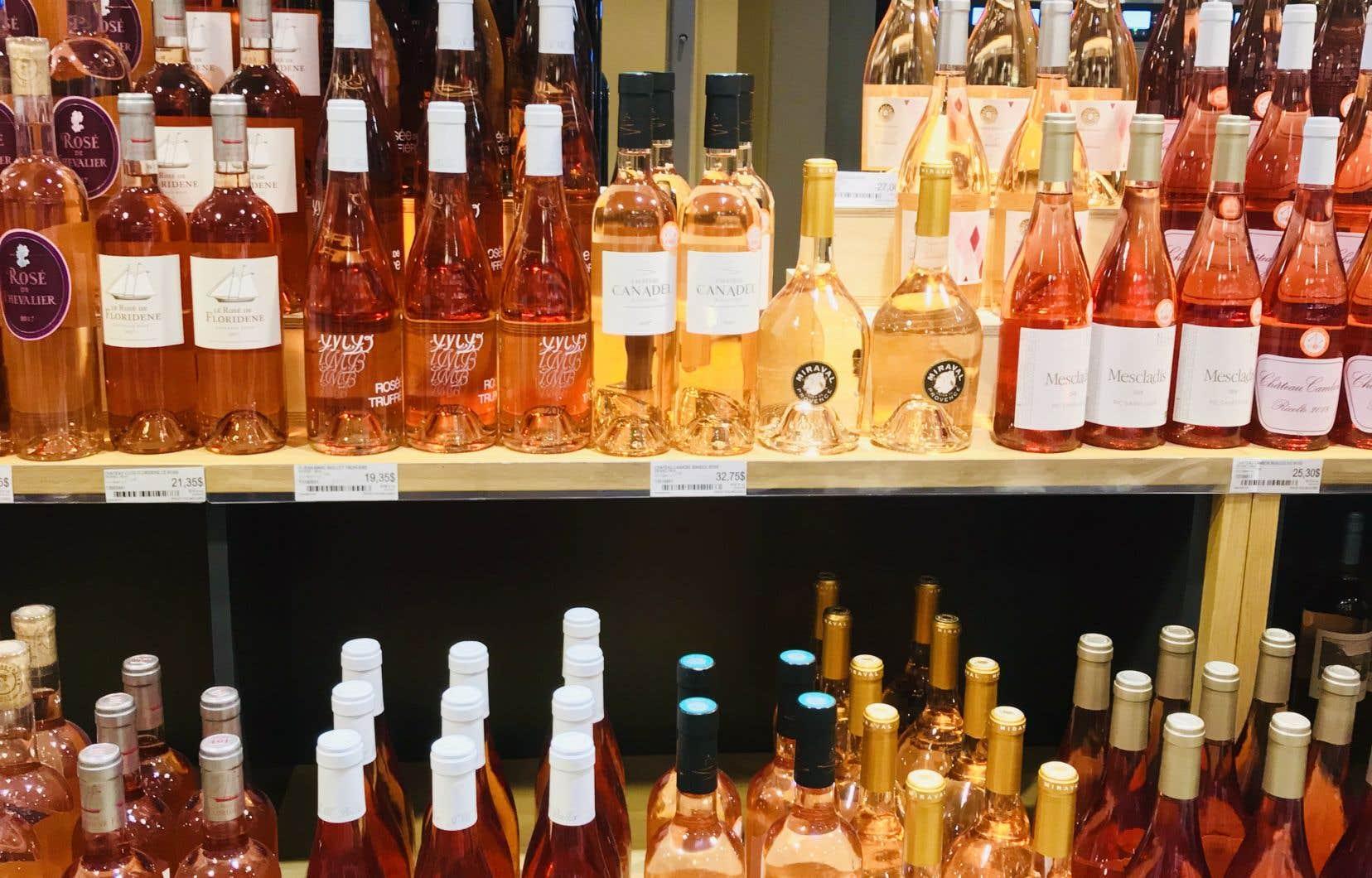 Nul besoin de se cacher pour savourer du rosé à longueur d'année.