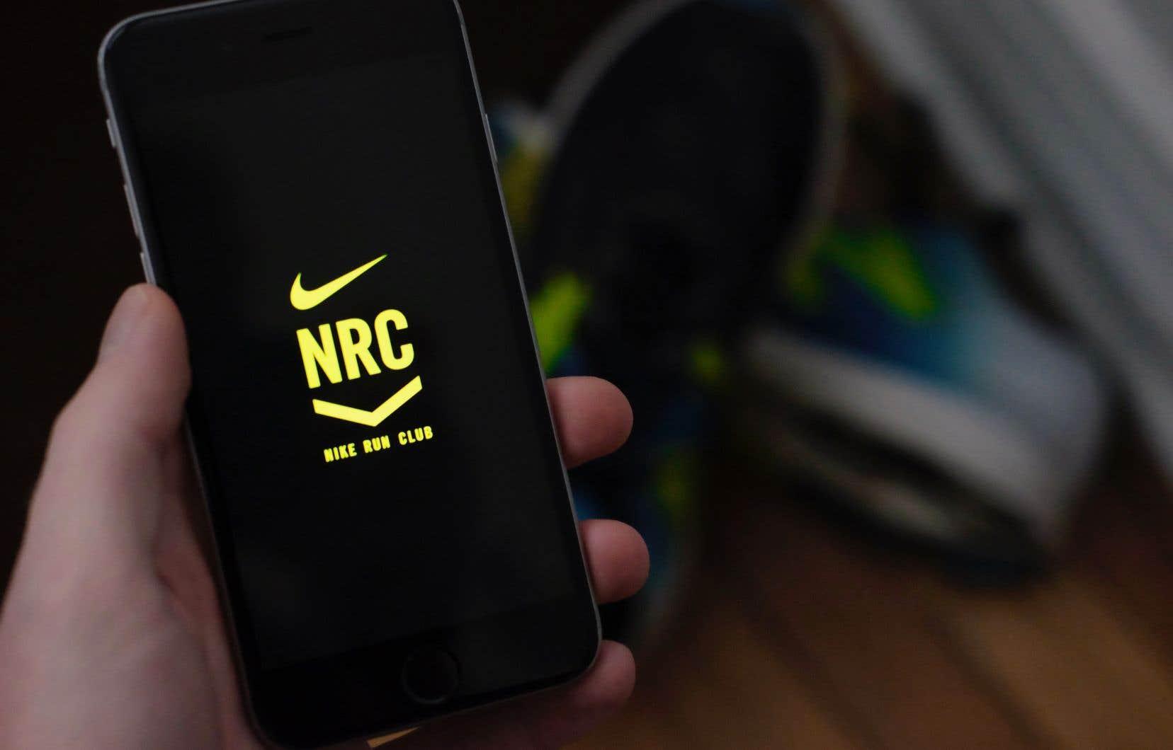 Nous répondons à quelques questions et l'application de Nike nous concocte un horaire sur mesure pour atteindre nos objectifs.