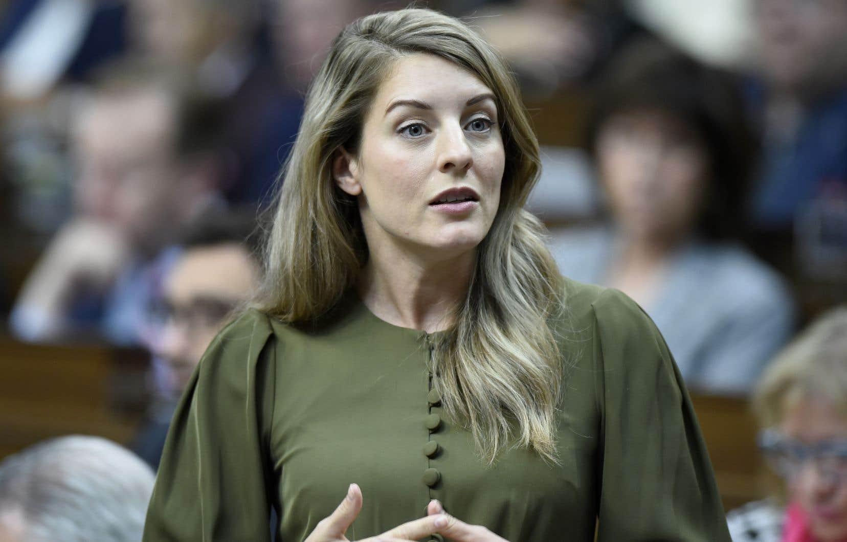«C'est un moment historique au niveau de notre francophonie», a affirmé la ministre fédérale Mélanie Joly.