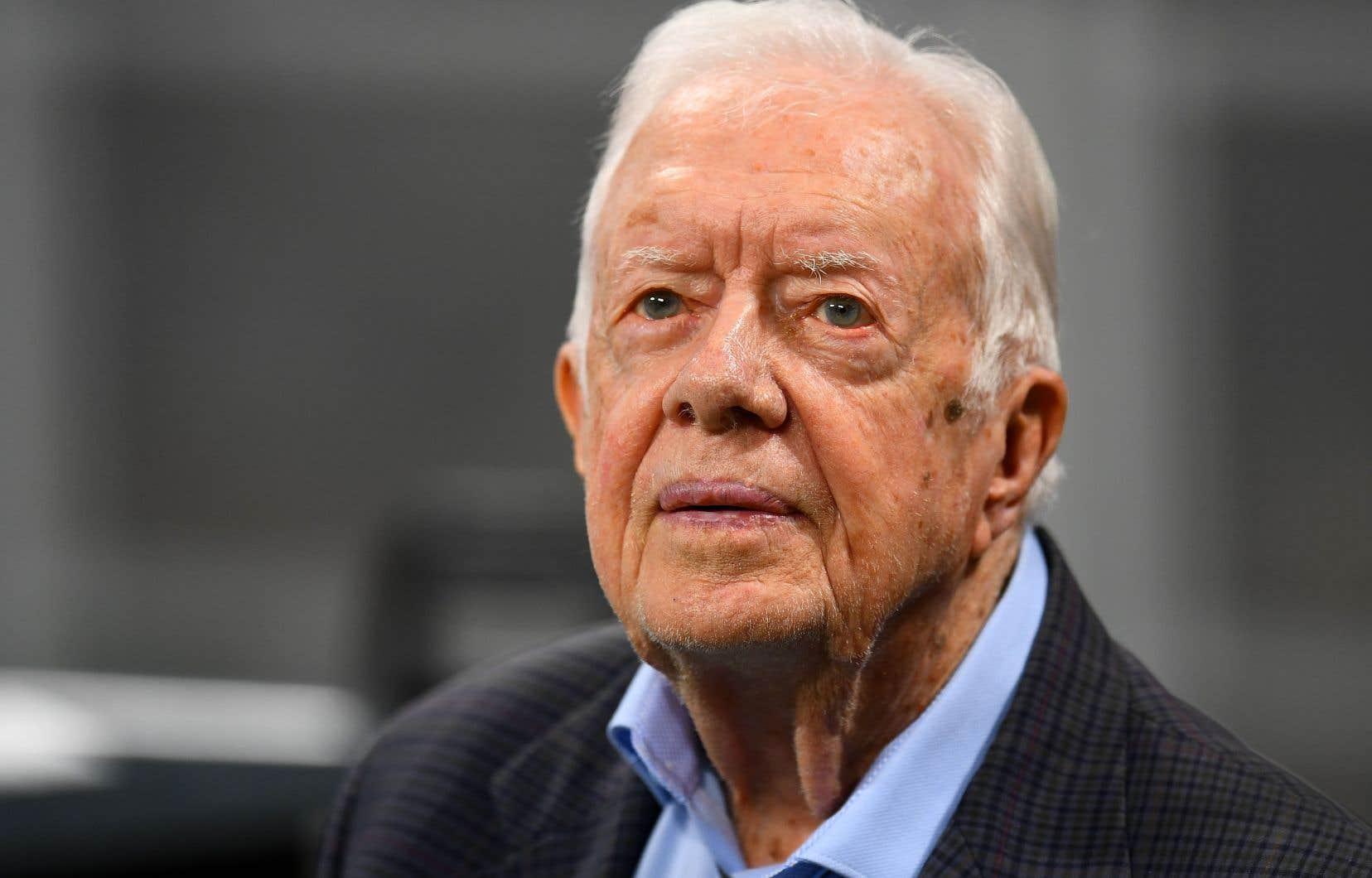 L'ex-président Jimmy Carter en septembre 2018