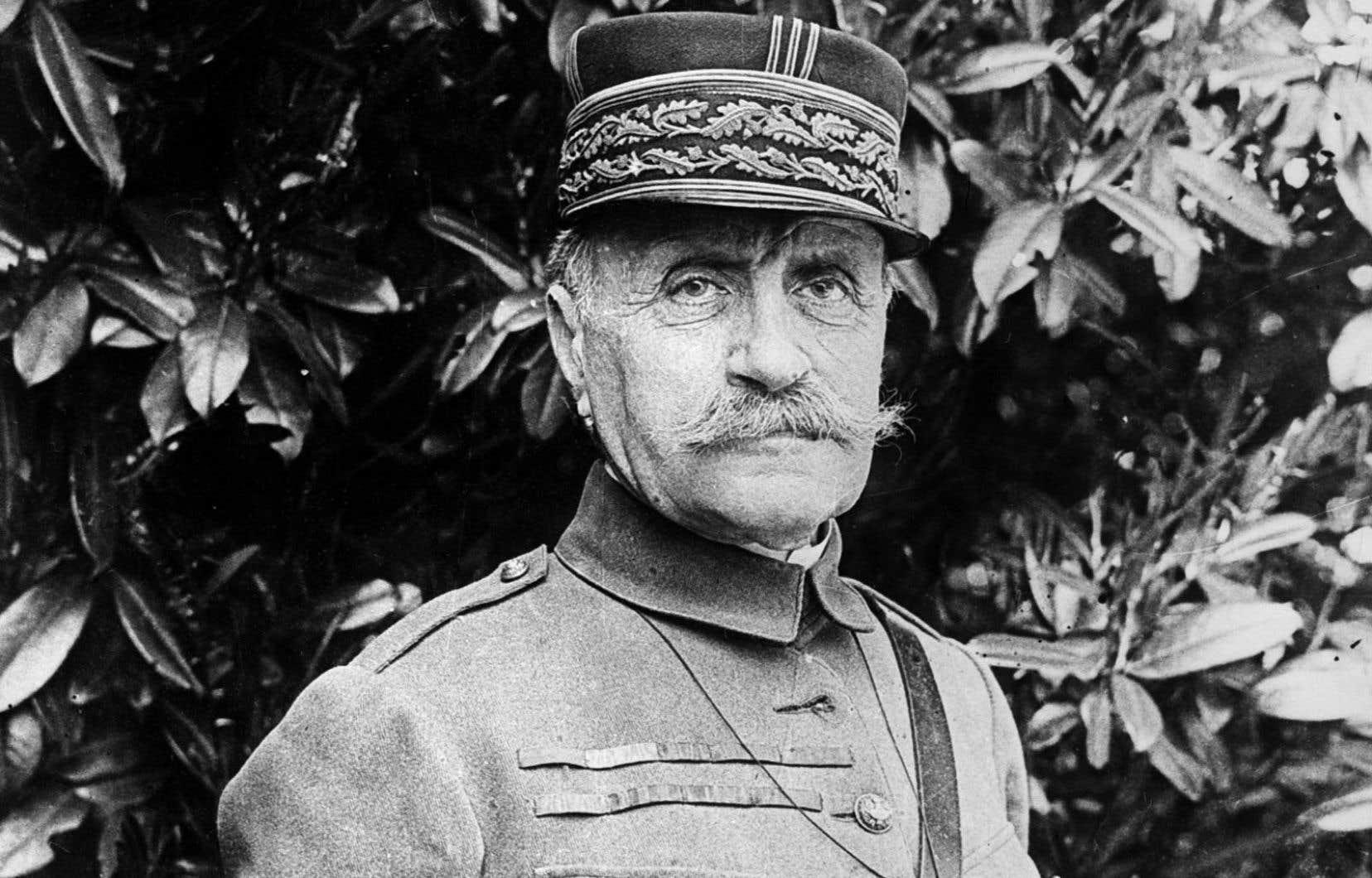 Photo non datée du maréchal Ferdinand Foch, commandant les troupes alliées durant la Première Guerre mondiale.