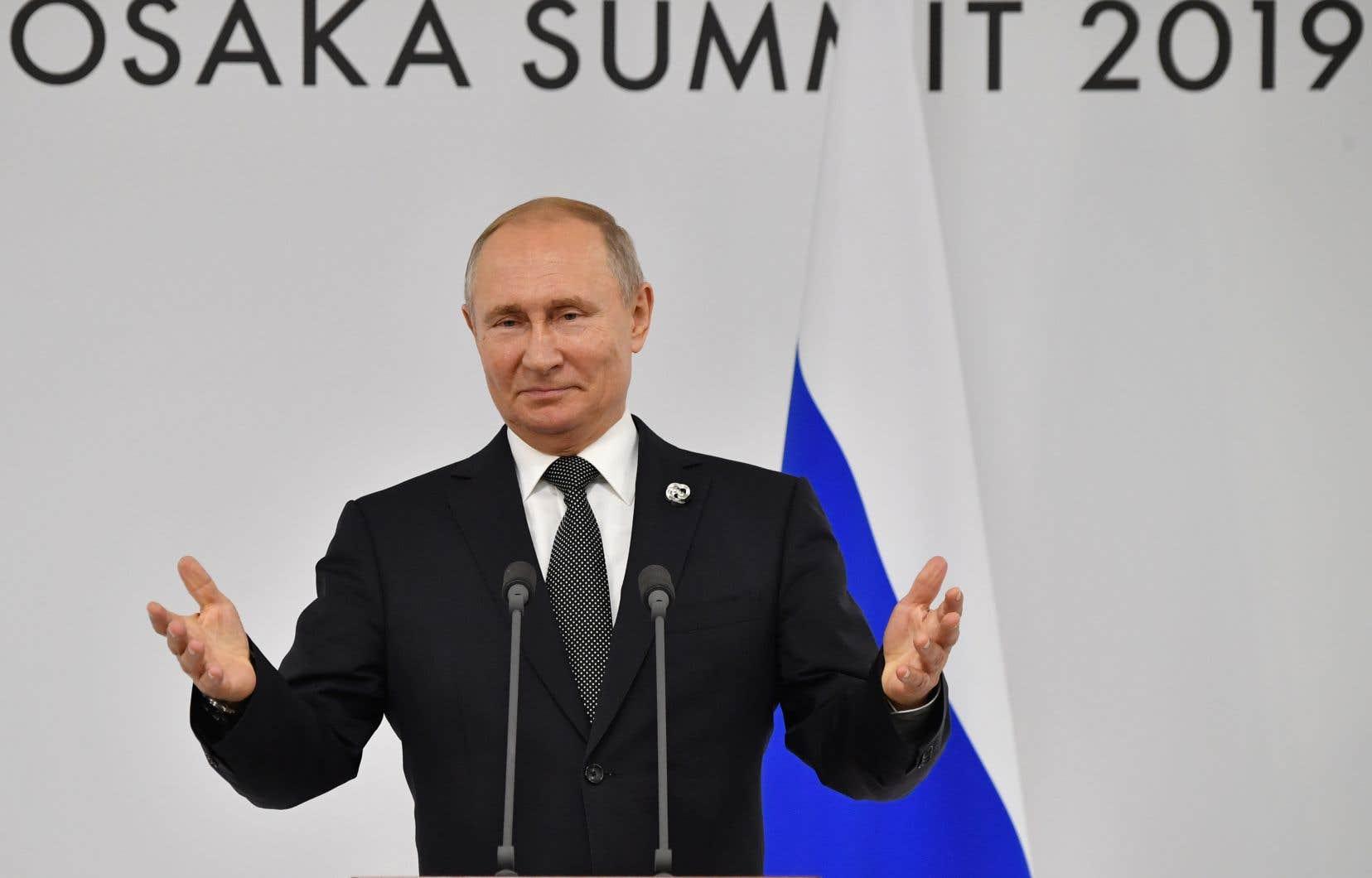 La conception du monde de Vladimir Poutine a touché une corde sensible chez certains dirigeants à Osaka.