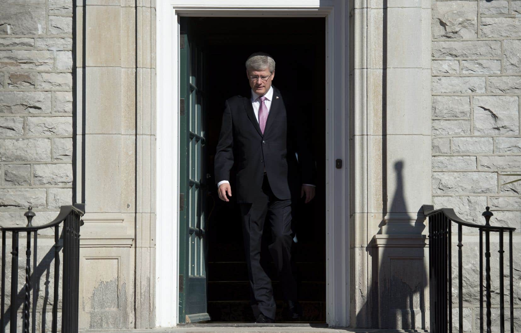 L'ex-premier ministre canadien Stephen Harper