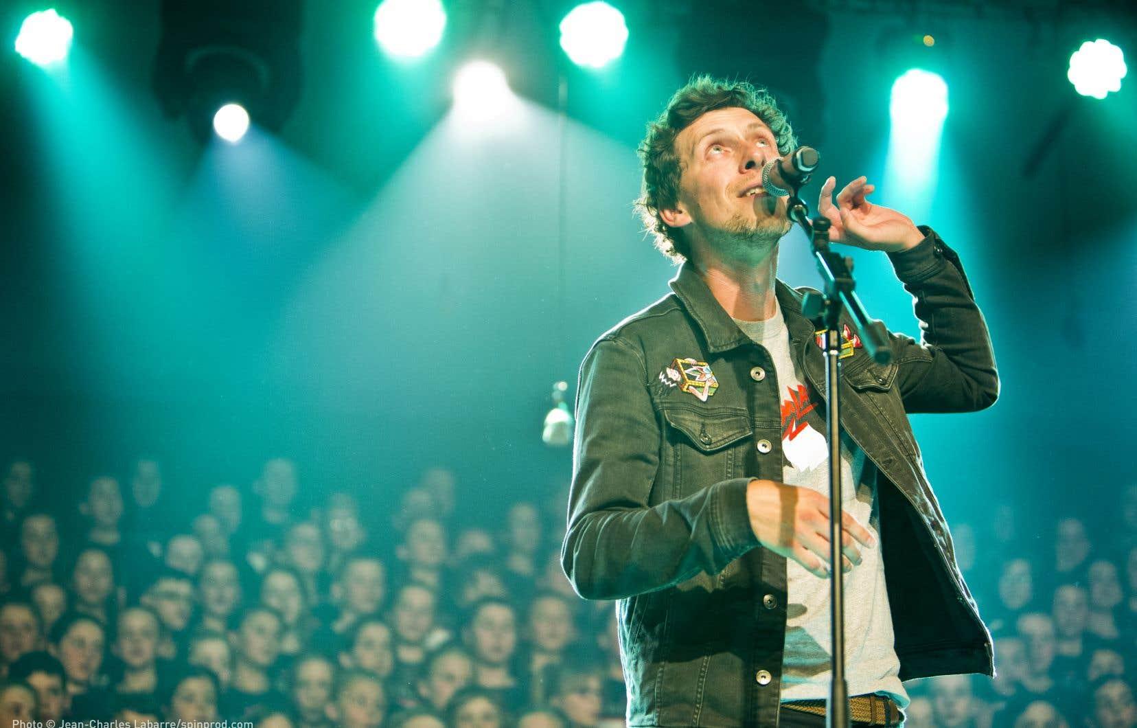 Patrice Michaud était l'«artiste-passeur» de la 37e édition du Festival en chanson de Petite-Vallée.