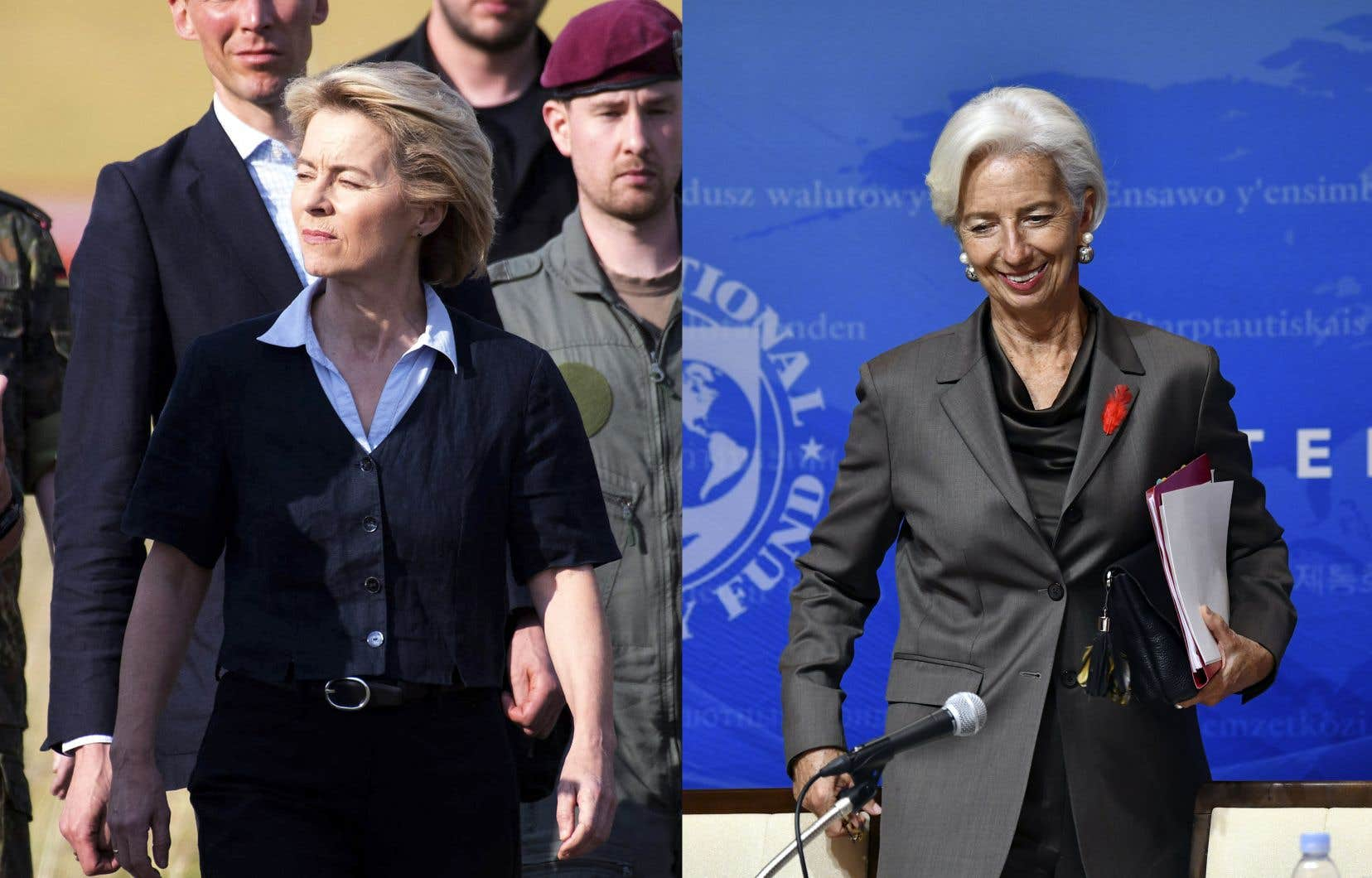 La ministre allemande Ursula von der Leyen sera nommée à la tête de la Commission européenne, alors que la Française Christine Lagarde dirigera la Banque centrale européenne.
