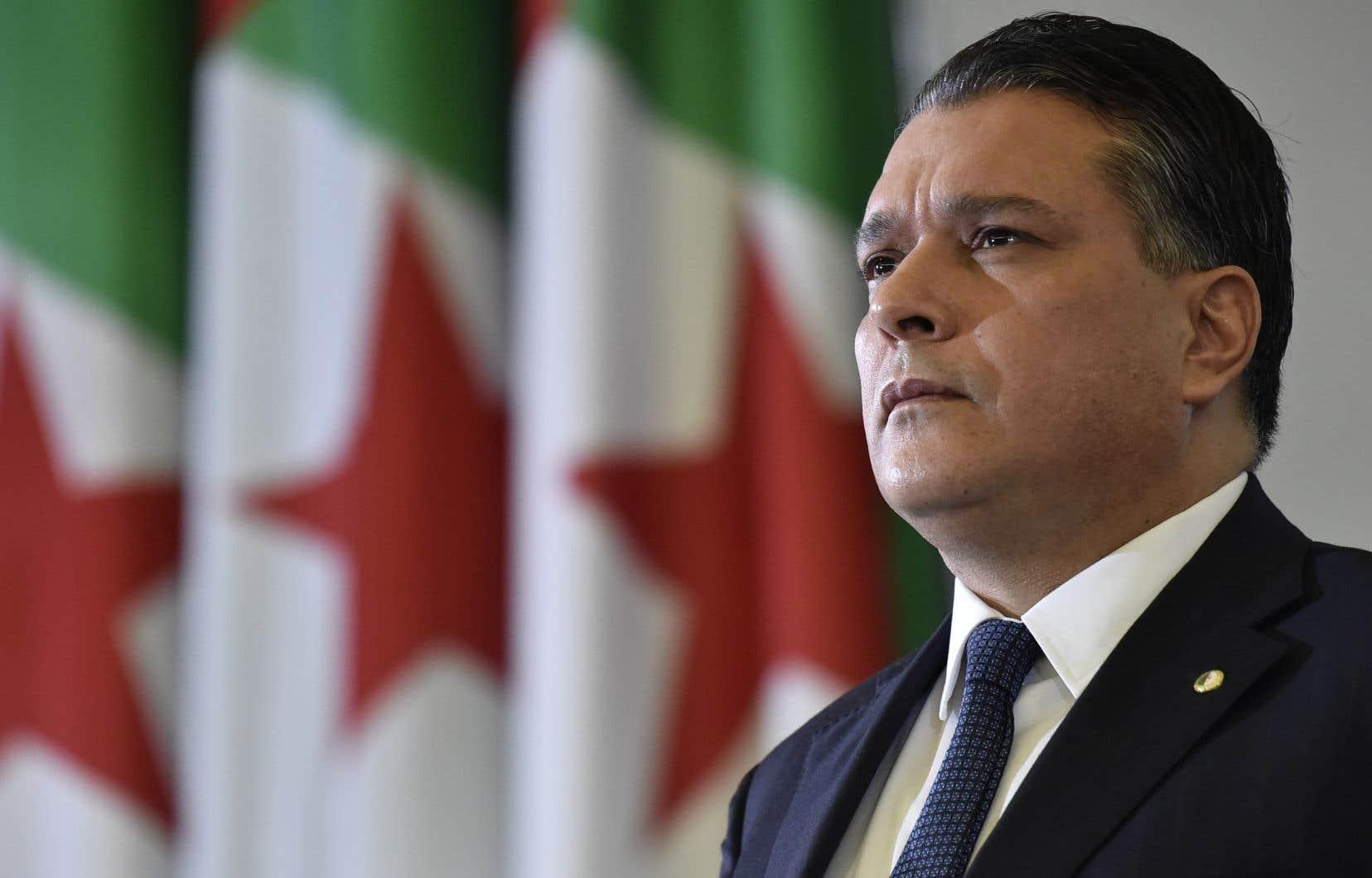 Le président de la Chambre basse algérienneMouad Bouchareb