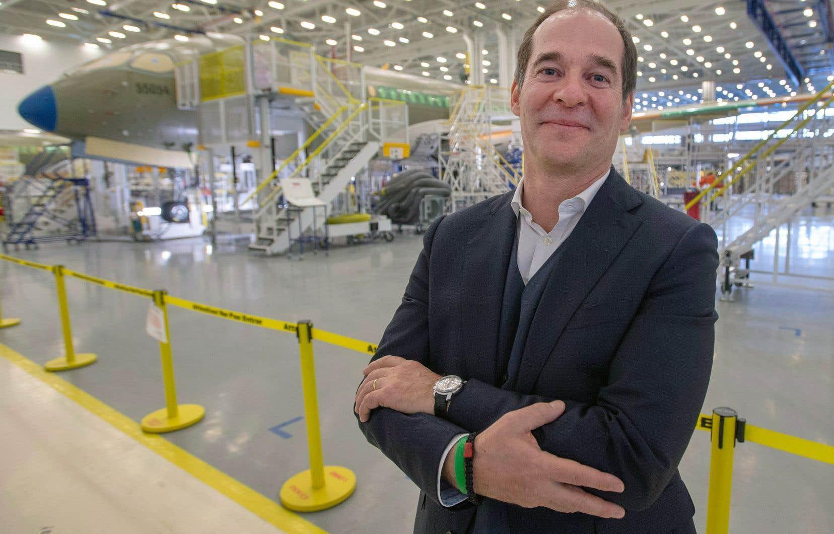 Le p.-d.g. d'Airbus Canada, Philippe Balducchi
