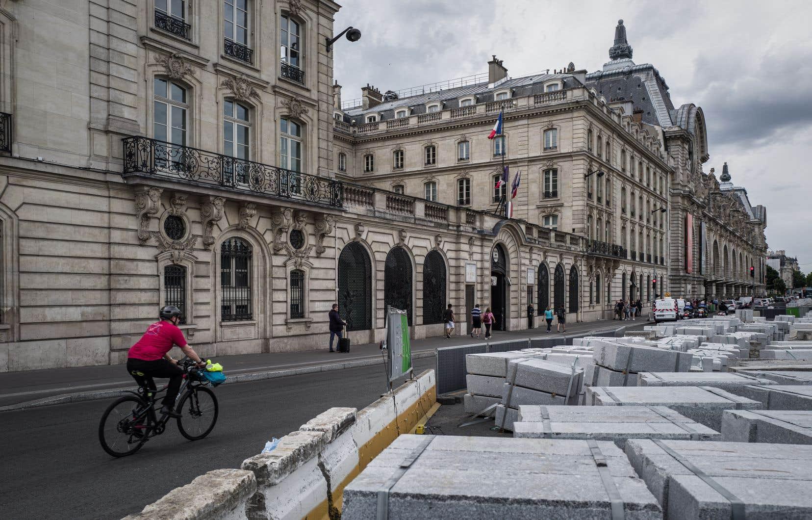 Le nombre de chantiers à Paris a grimpé à près de 7400 au début juillet.