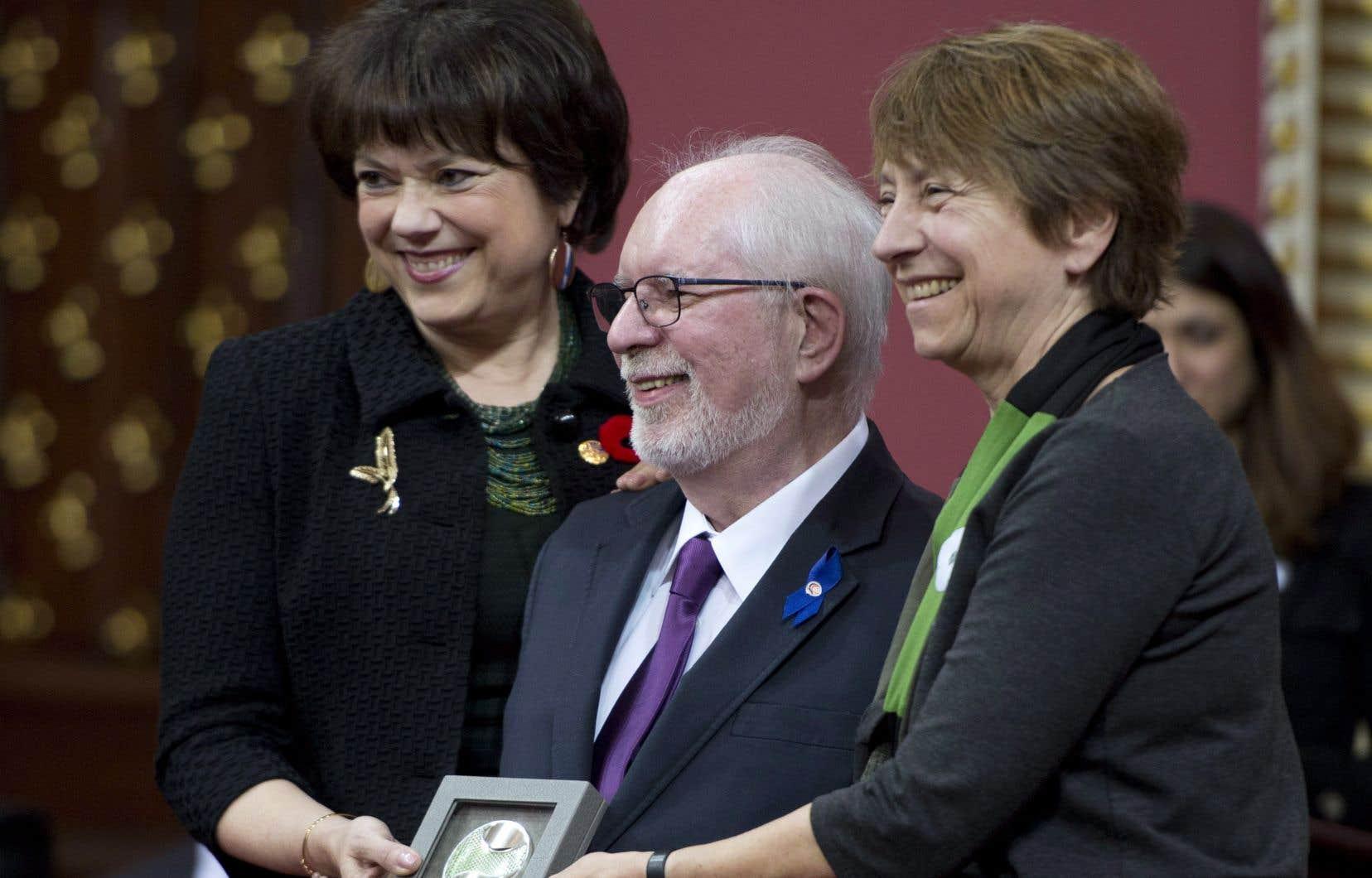 Jean Royer avait reçu le prestigieux prix David pour souligner l'ensemble de son oeuvre en 2014.