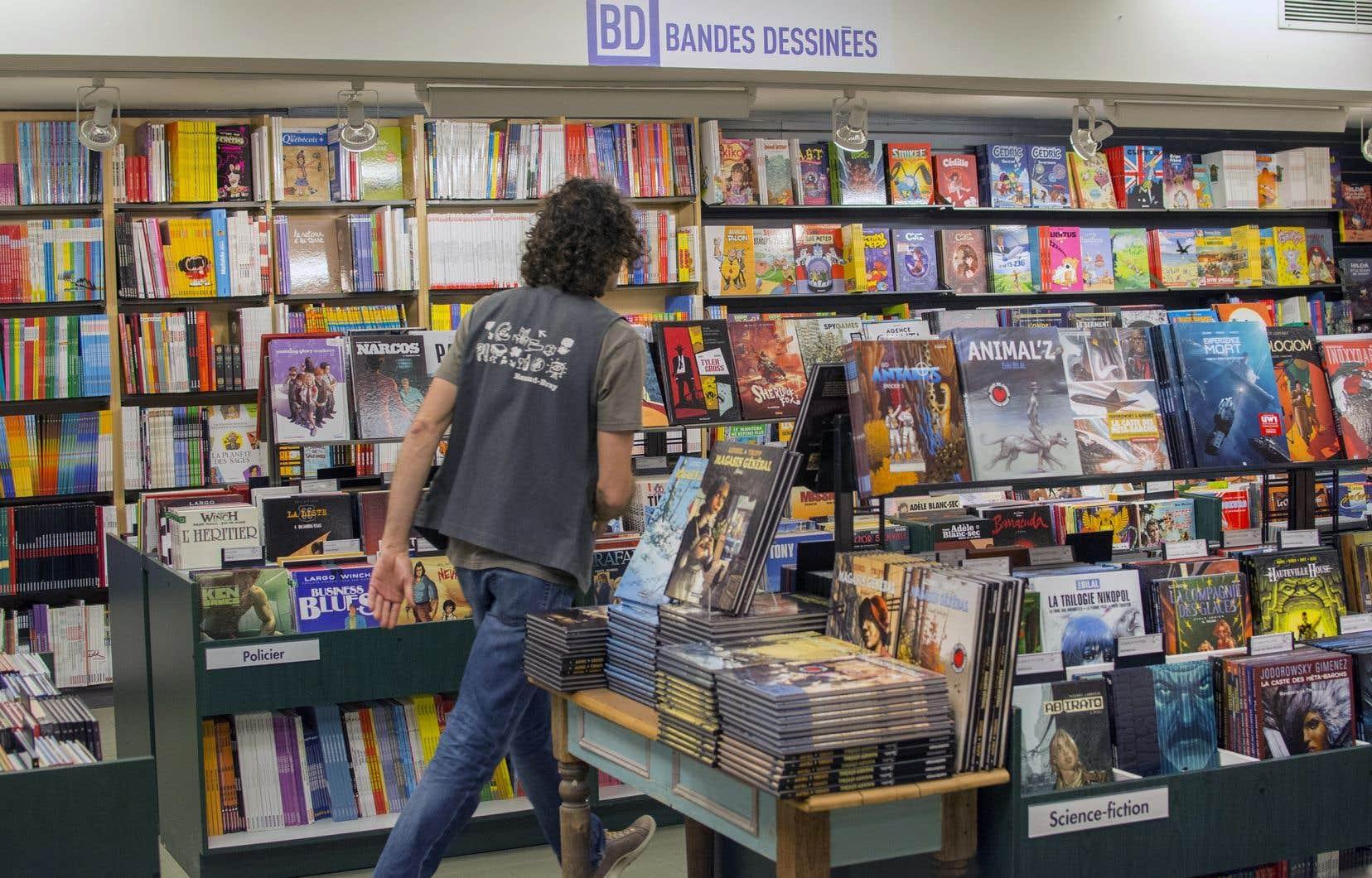 La bande dessinée est l'un des rares créneaux littéraires à connaître une croissance soutenue depuis plus de dix ans.