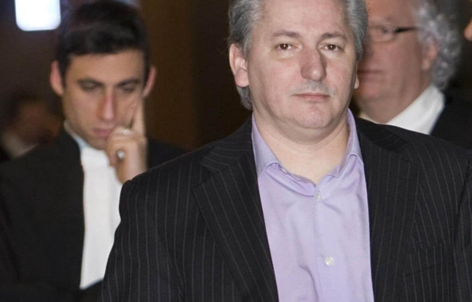 Jean Cholette, un des cinq accusés.