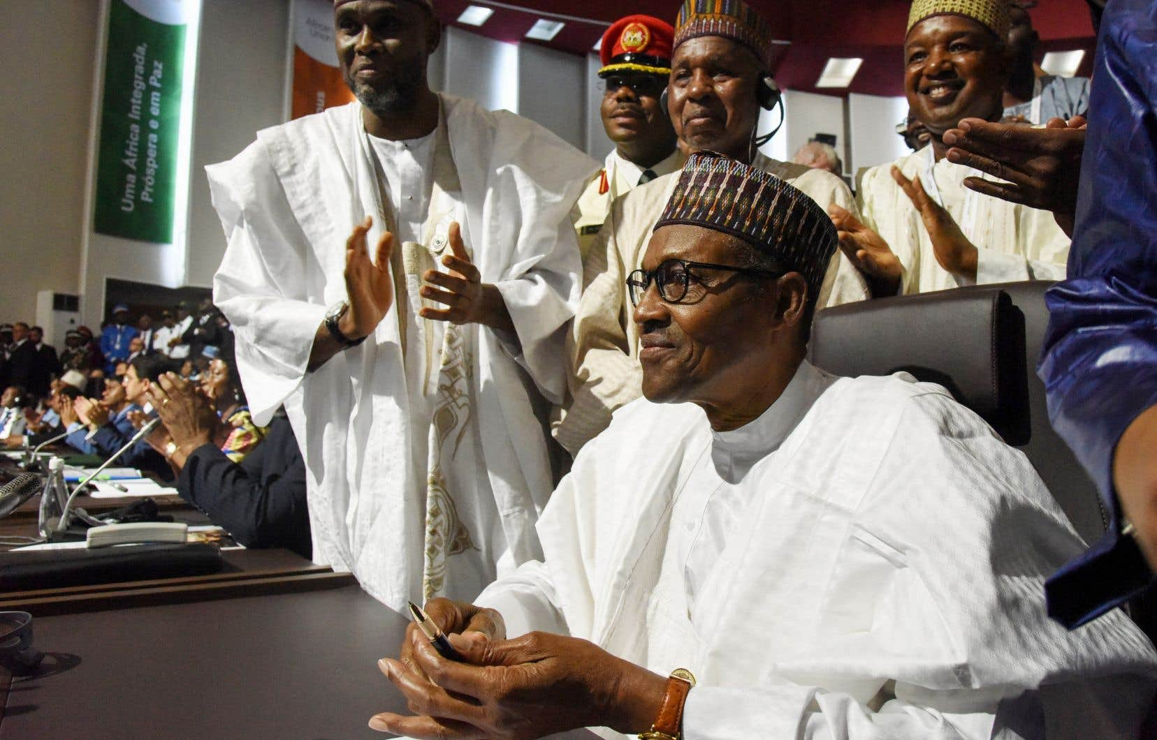 Le président nigérian Muhammadu Buhari s'apprête à ratifier l'accord de création de la Zone de libre-échange continentale africaine.