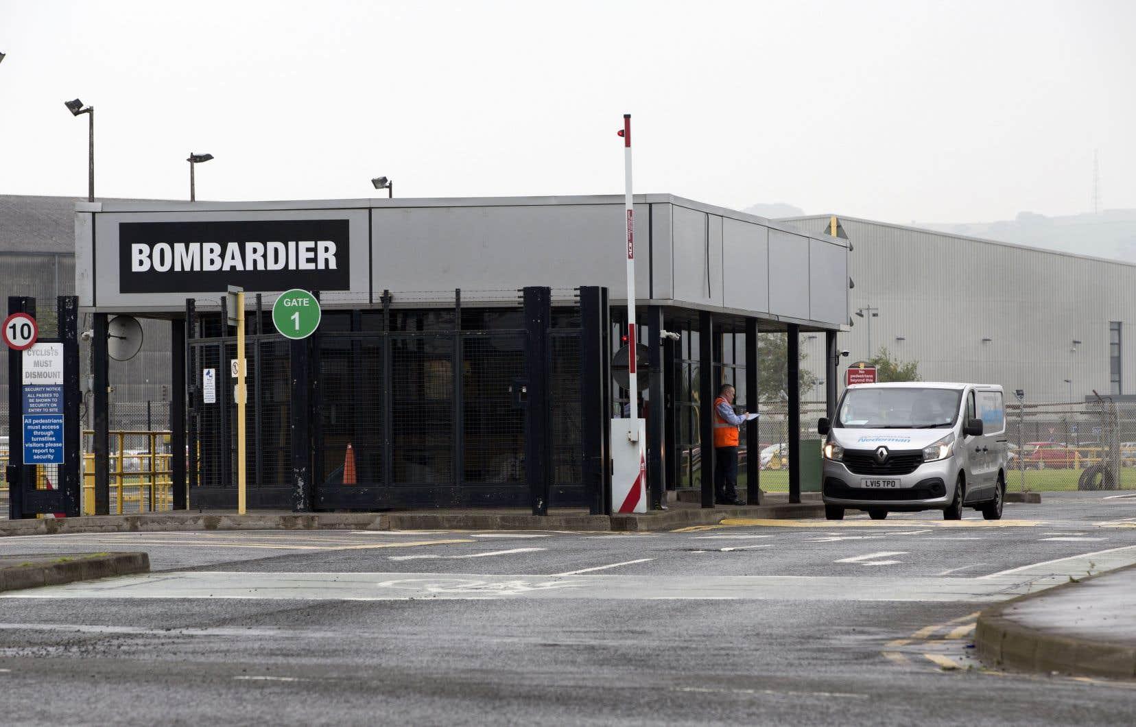 Bombardier avait annoncé en mai son intention de vendre ses usines de Belfast (notre photo), où travaillent quelque 3600 personnes.