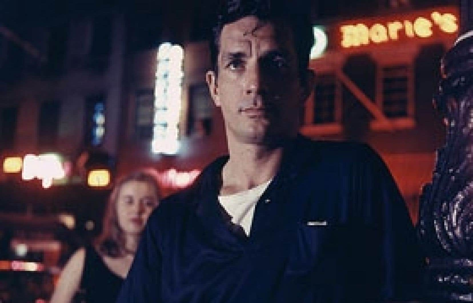 Jack Kerouac et sa compagne, Joyce Johnson, à Greewich Village, en 1957. Photo: Jerome Yulsman, Globe Photos