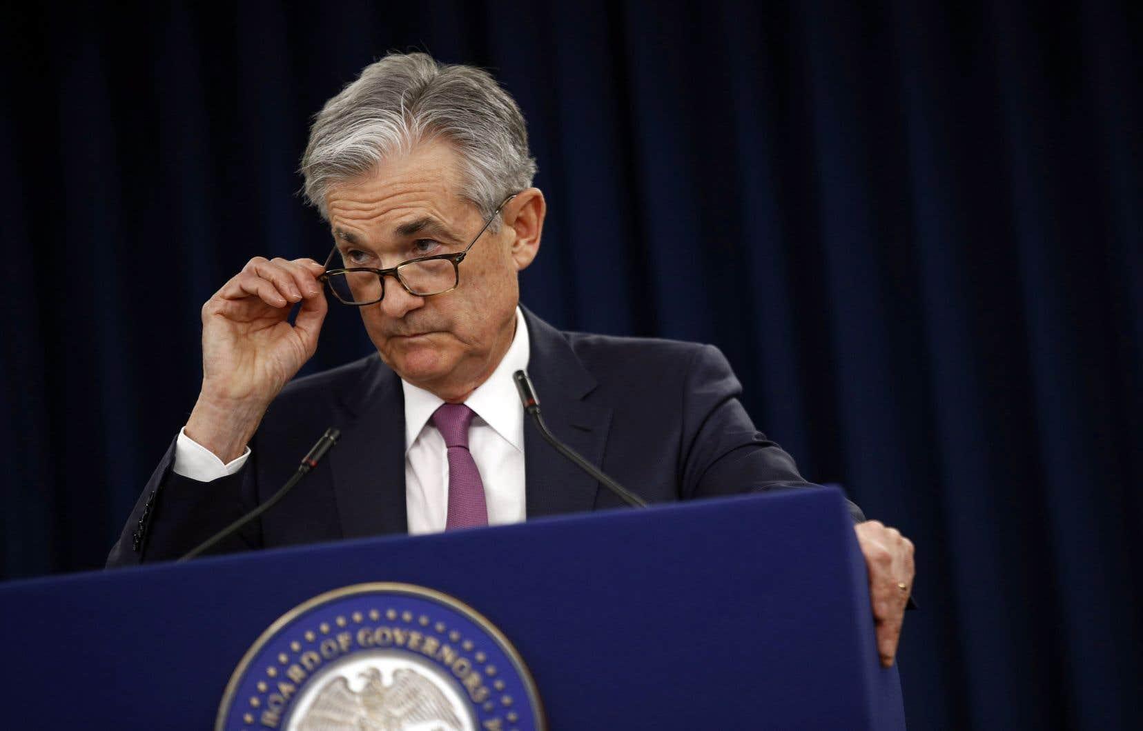 Le président de la Fed, Jerome Powell, estime que le salaire moyen des travailleurs n'augmente pas assez vite pour faire accélérer la faible inflation, même avec un taux de chômage près de son niveau le plus bas en cinq ans.
