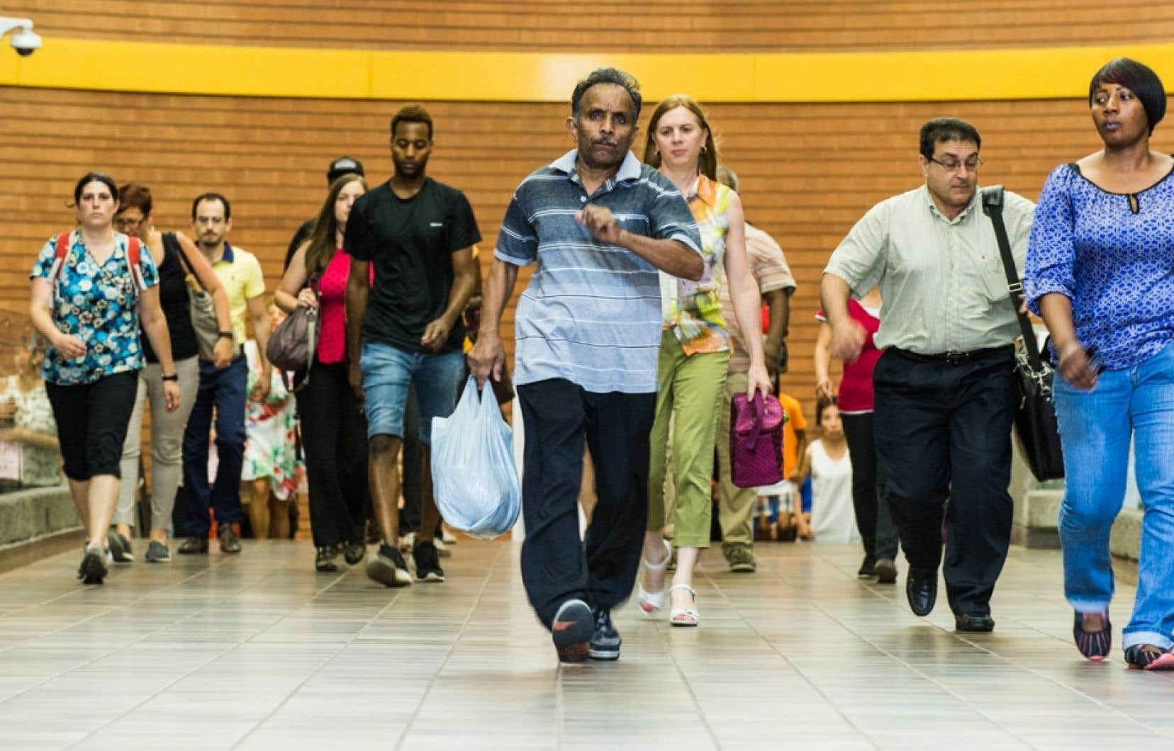 <p>Si les tendances démographiques récentes se maintiennent, l'ISQ calcule que le Québec devrait passer de 8,4millions d'habitants en 2018 à 9millions d'habitants en 2030.</p>