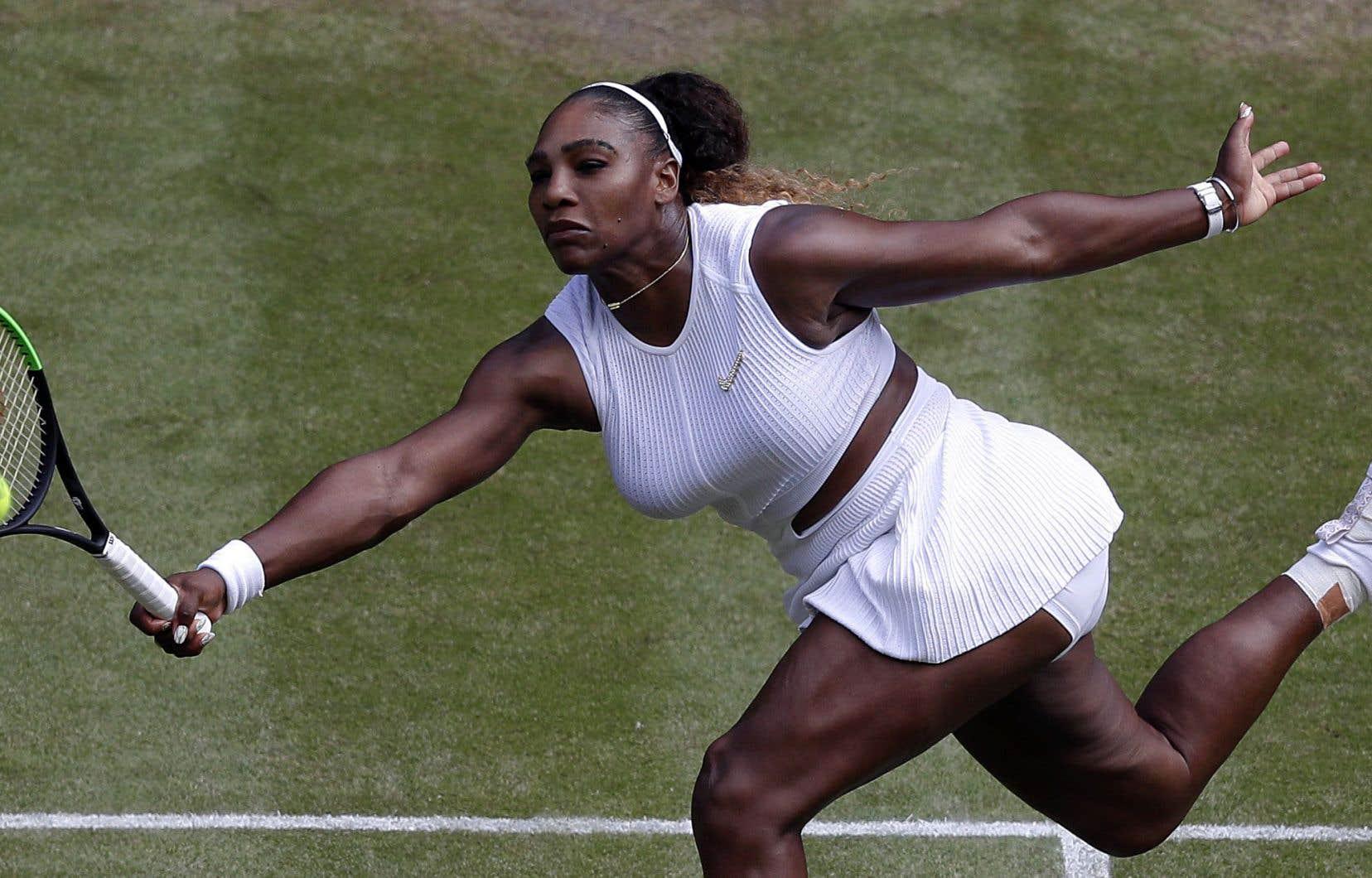 Serena a déjà remporté le tournoi de Wimbledon à sept reprises.
