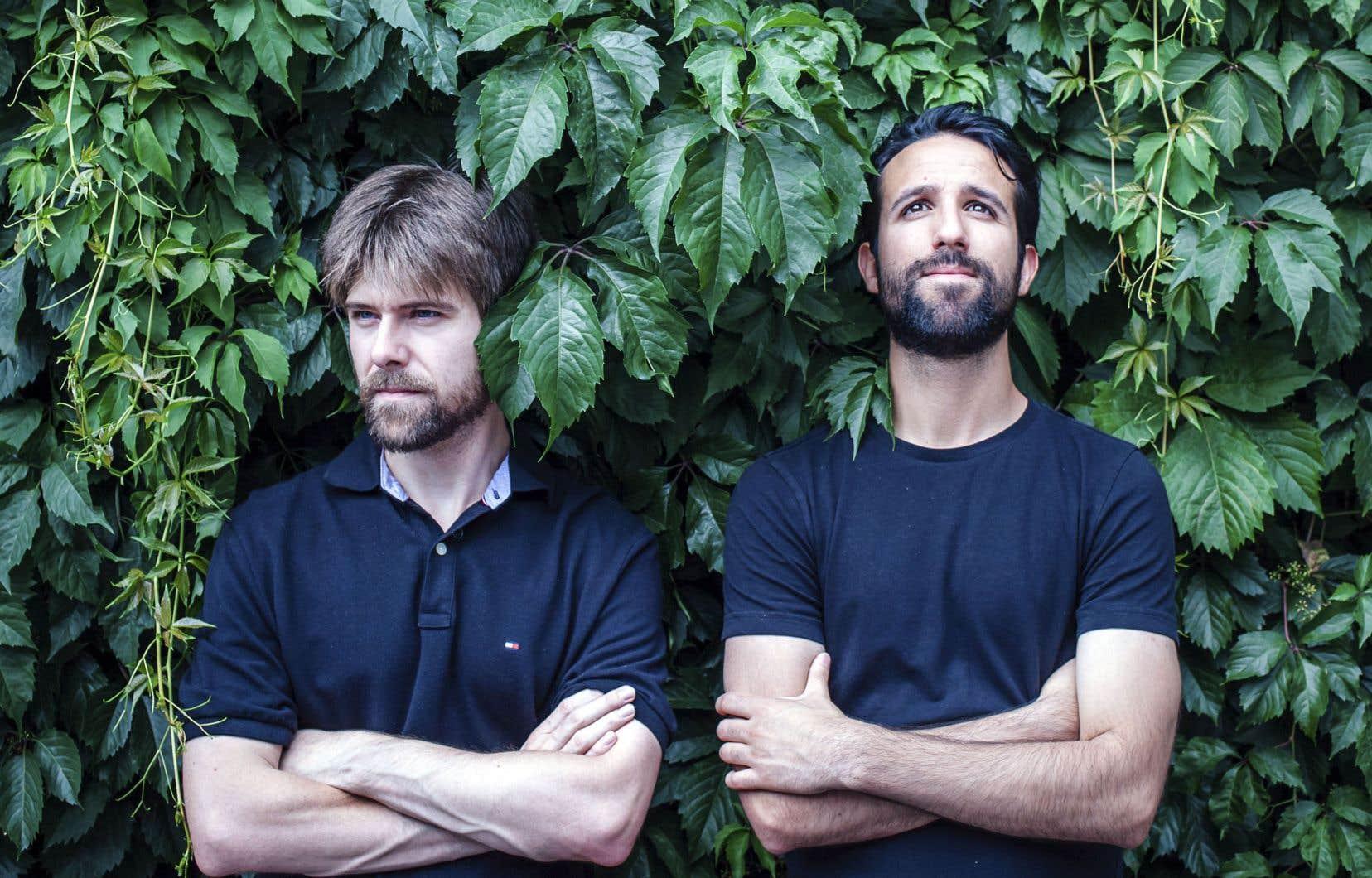 Les documentaristes Amir Belkaim et Félix Brassard présentent leur film «L'inquiétante absence», dimanche à Fantasia.