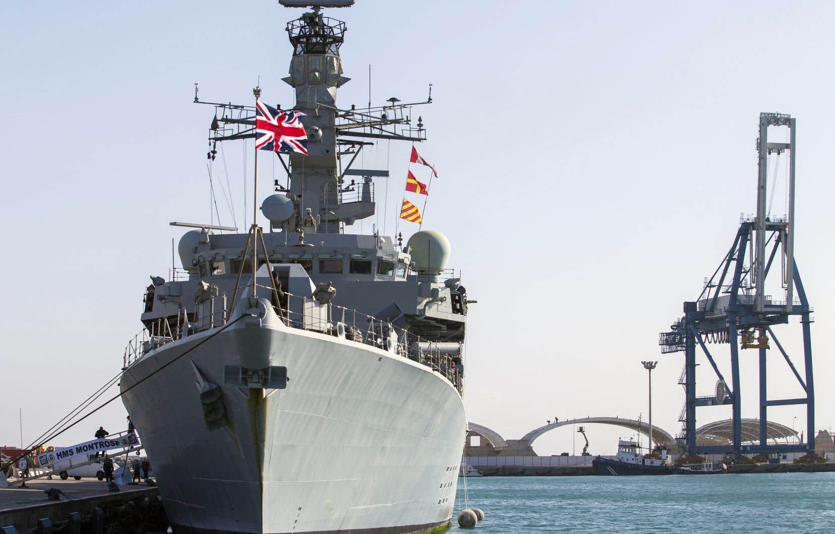 Un nouvel incident est venu s'ajouter mercredi quand la marine militaire iranienne a tenté, selon le Royaume-Uni, «d'empêcher le passage» par Ormuz d'un pétrolier britannique.
