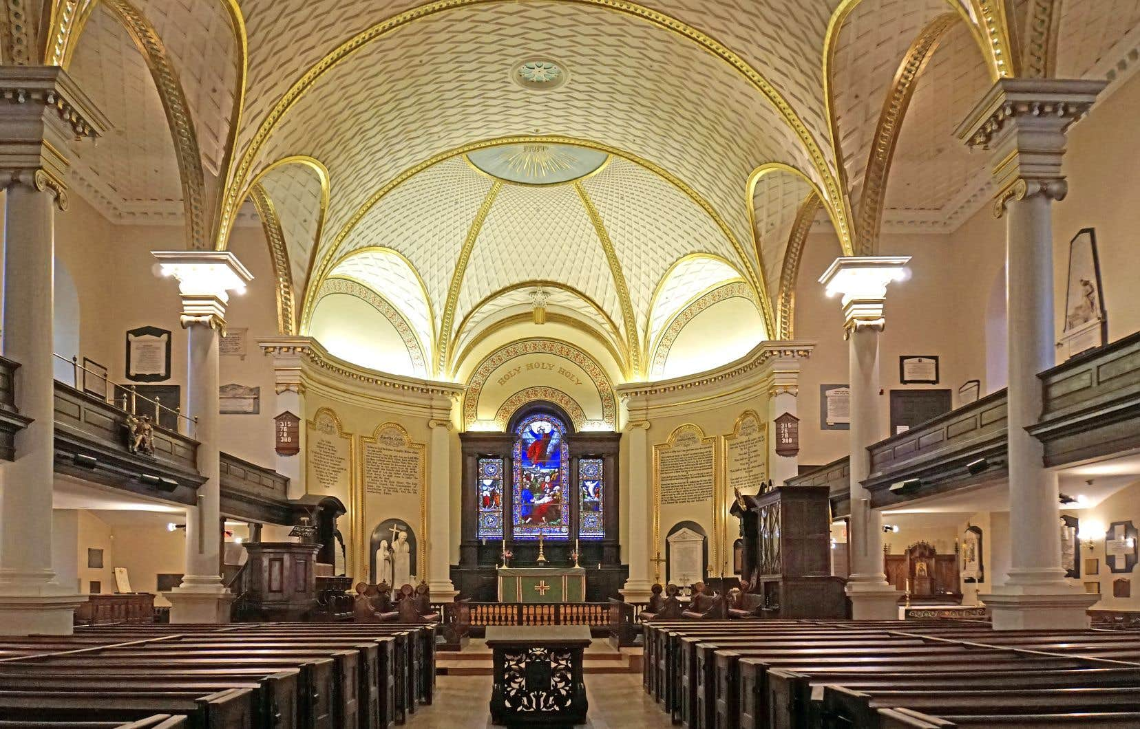 La cathédrale anglicane de la Sainte-Trinité, à Québec