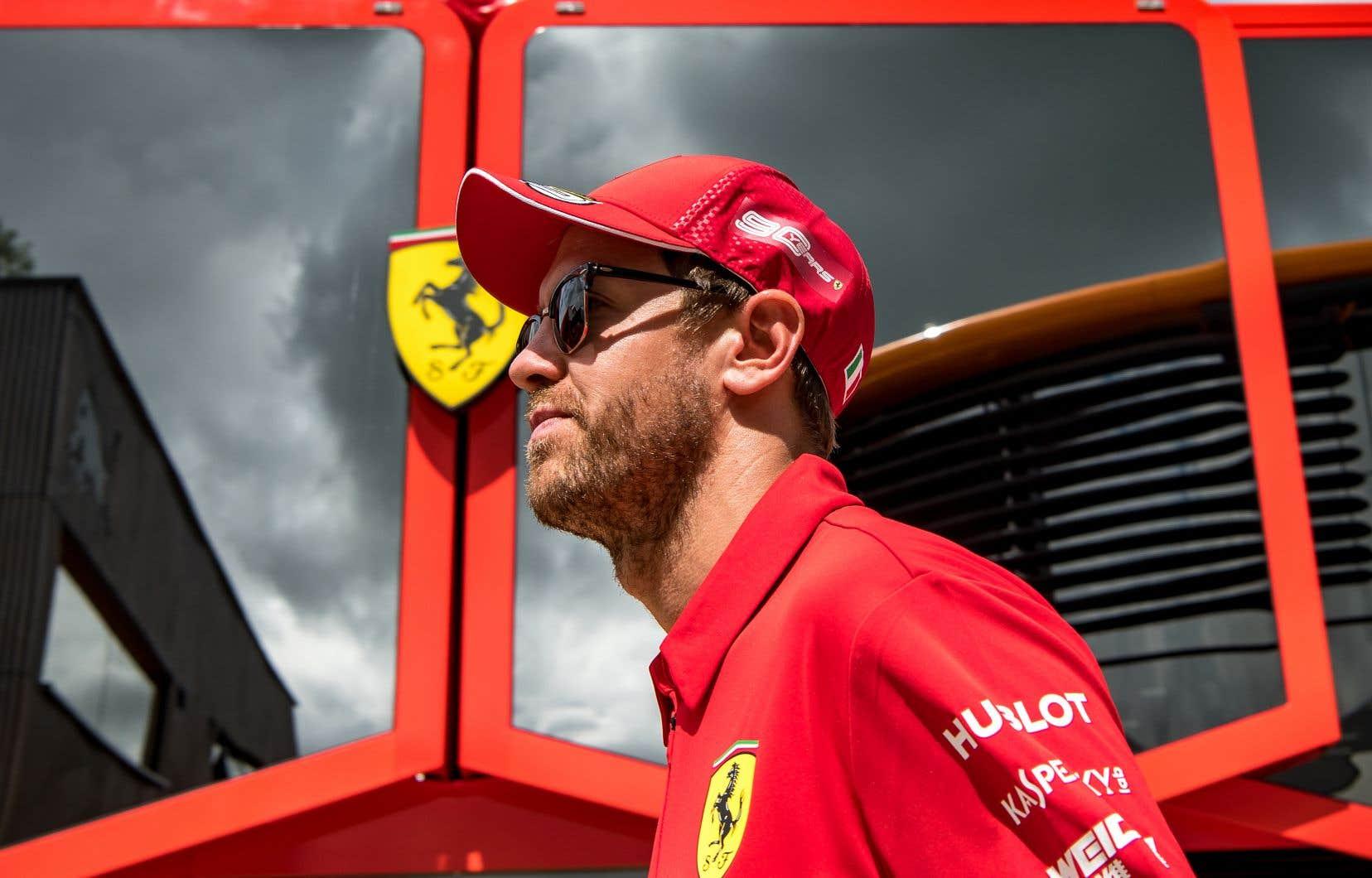 «J'ai quelques difficultés dernièrement pour trouver de la performance sur un tour», a admis Vettel.