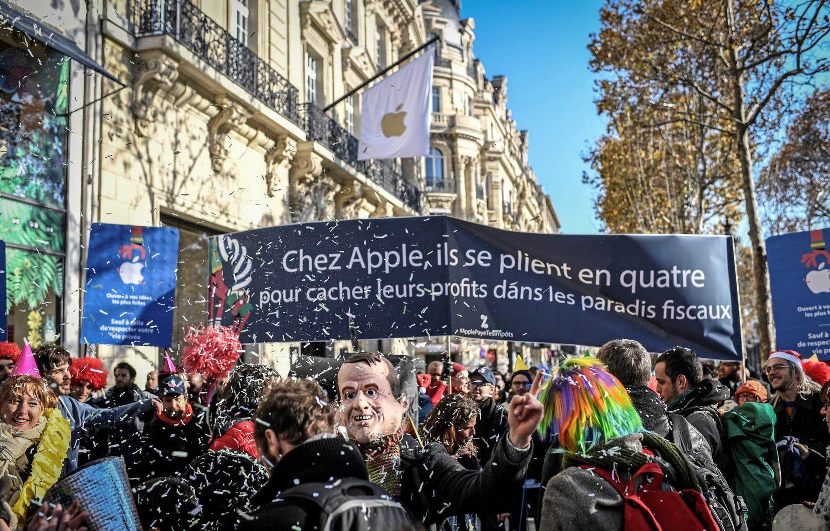Les ONG Attac et Oxfam ont demandé aux ministres du G7 de «s'engager en faveur d'un système fiscal international plus juste», évitant l'évasion fiscale, ainsi qu'une taxation «plus efficace» des multinationales.