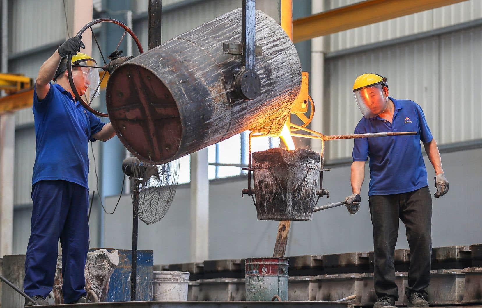Si la croissance annuelle de la Chine ralentissait jusqu'à 4,5% d'ici la fin de la prochaine décennie, les prix mondiaux des métaux chuteraient de 40% à 60%.