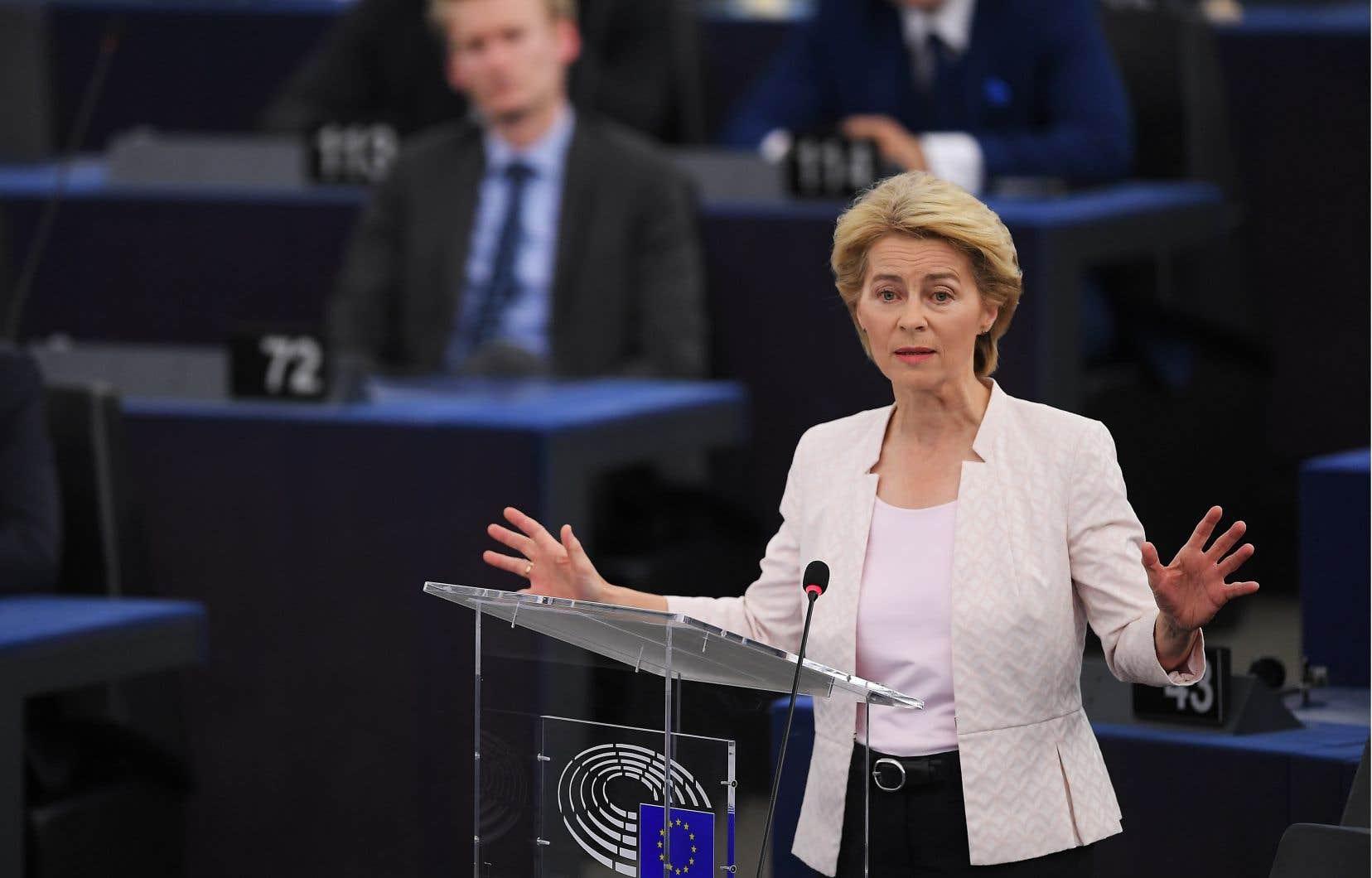 L'Allemande Ursula von der Leyen espère devenir la première femme présidente de la Commission européenne.