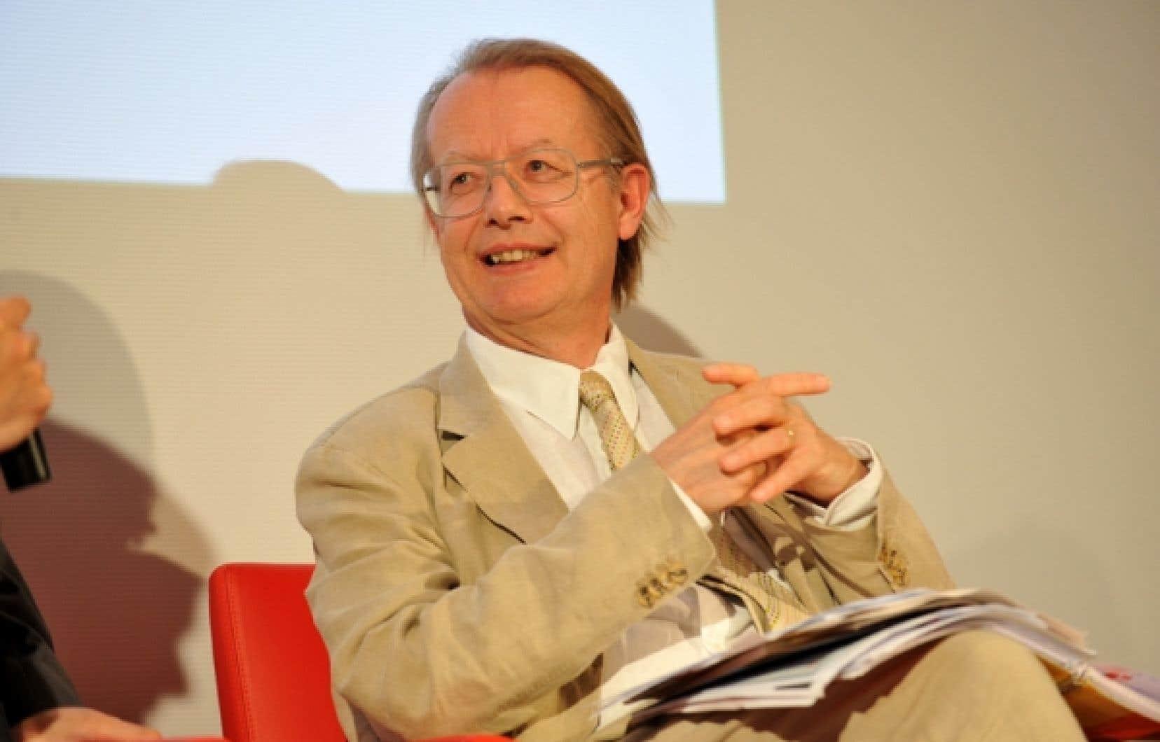 Thierry Jeantet a fond&eacute; les Rencontres du Mont-Blanc, qui se veulent le &laquo;Davos des politiques sociales&raquo;.<br />