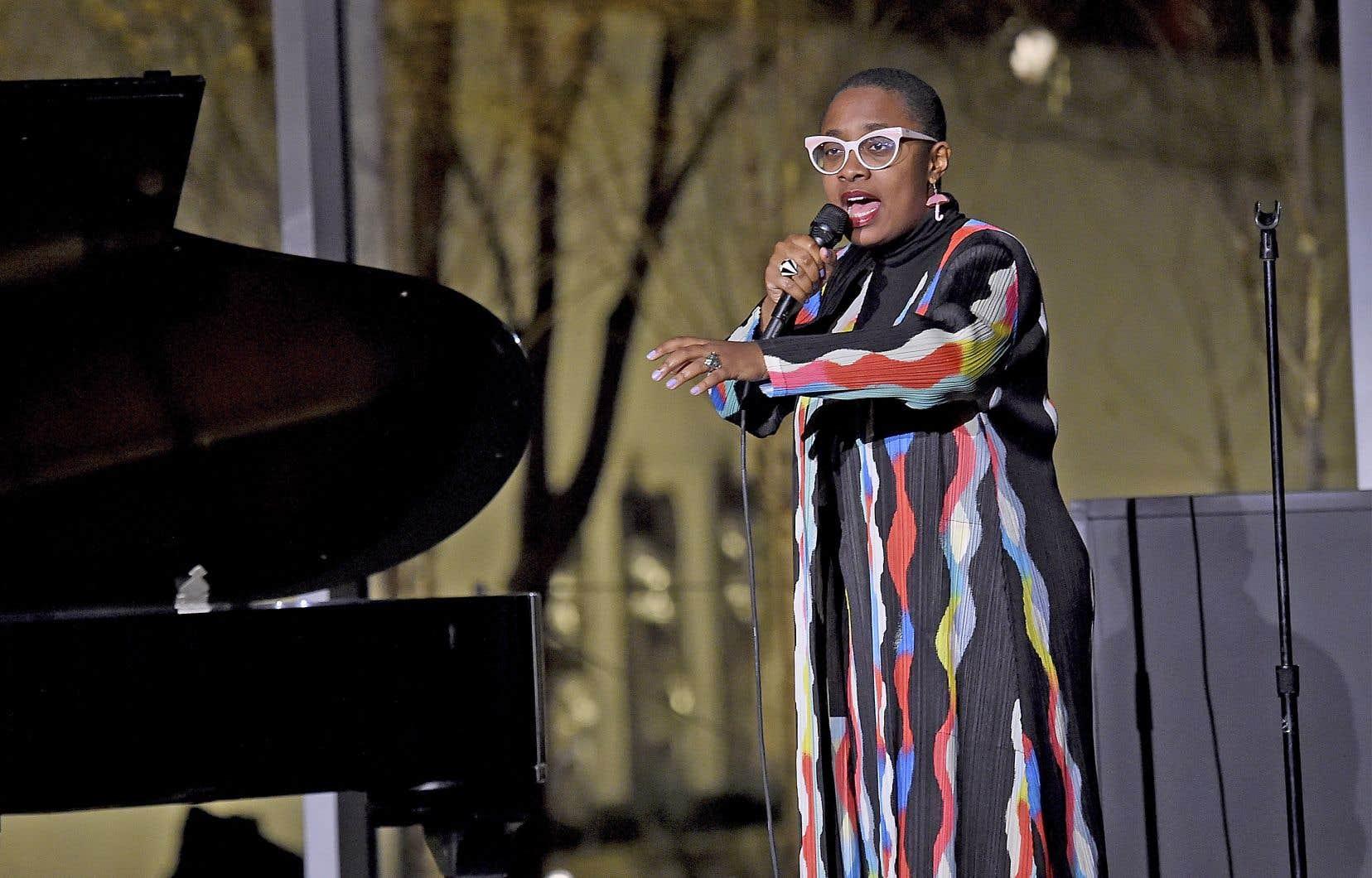 Cécile McLorin Salvant a été nommée artiste et chanteuse de l'année par le magazine «Down Beat», une consécration dans le milieu du jazz.