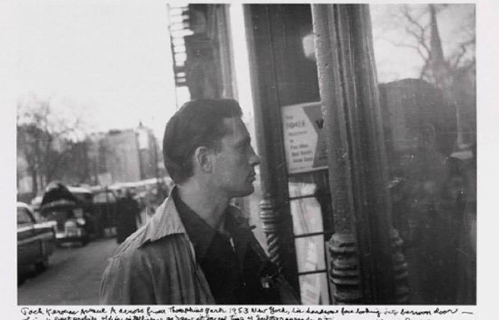 Jack Kerouac photographié en 1953 par Allen Ginsberg