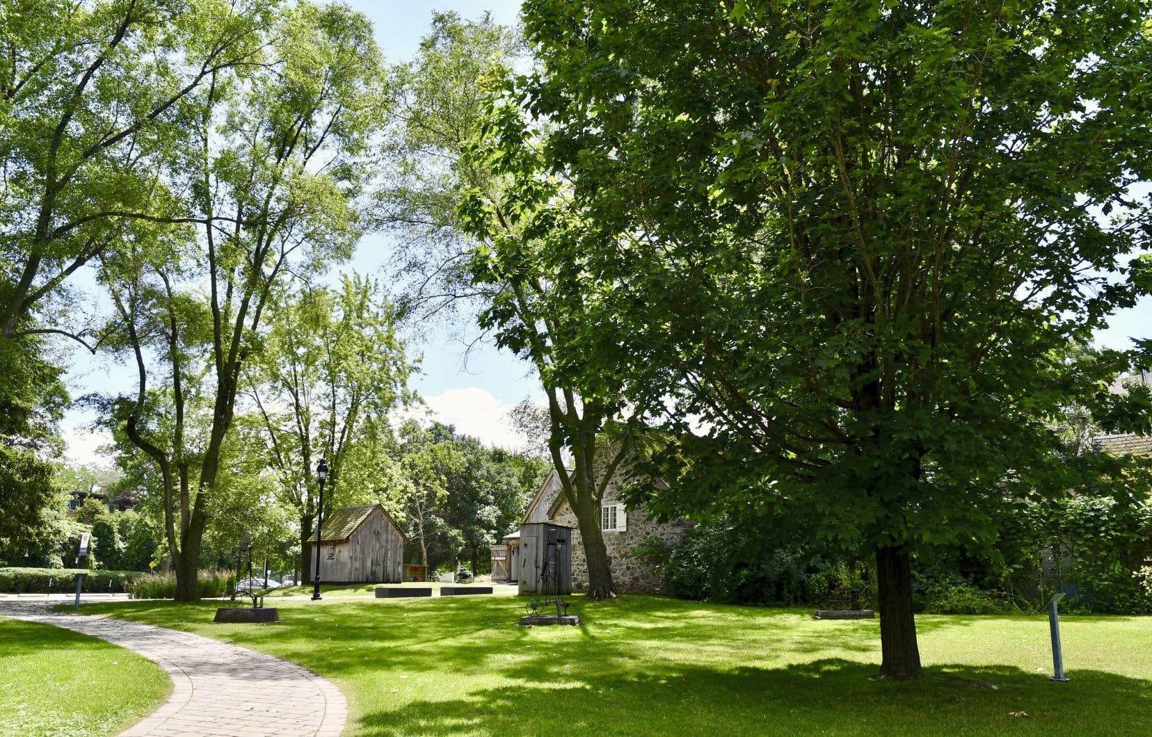 L'activité «Contes et pique-nique» se déroulera à l'ombre de beaux arbres face au lac Saint-Louis, sur le site patrimonial Le Ber-Le Moyne.