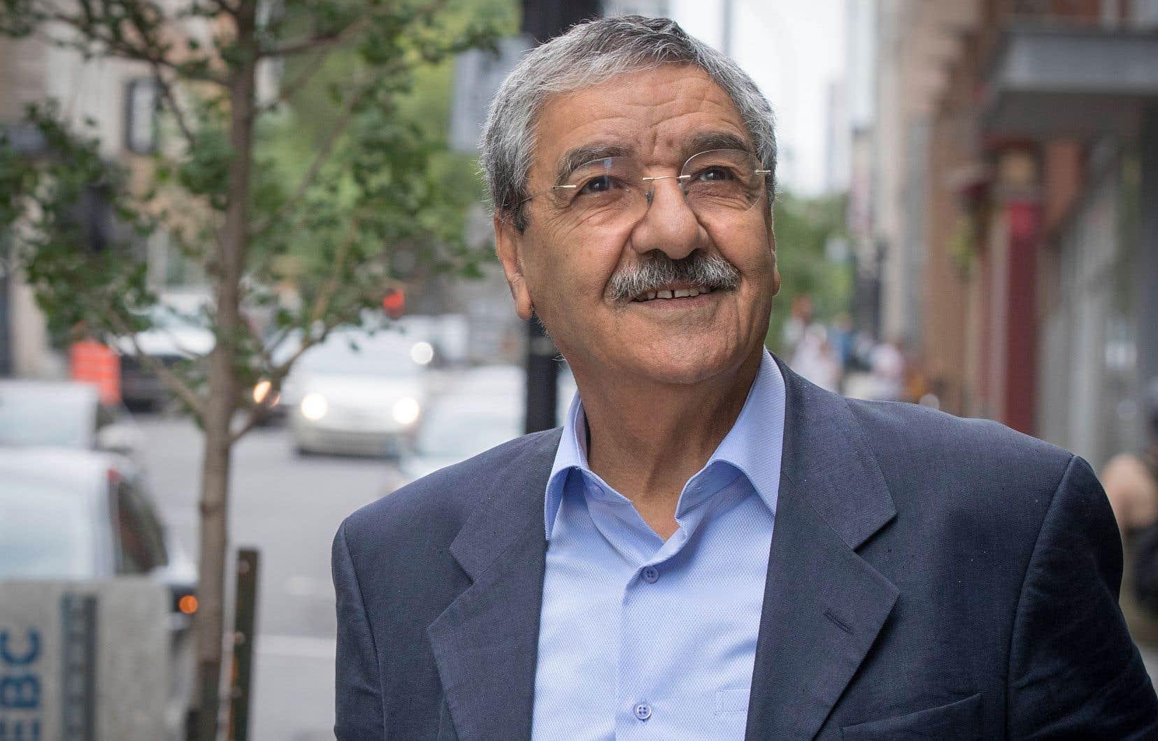 L'Algérie est au coeur d'un moment aussi historique que critique, dit le politicien algérien Saïd Sadi.