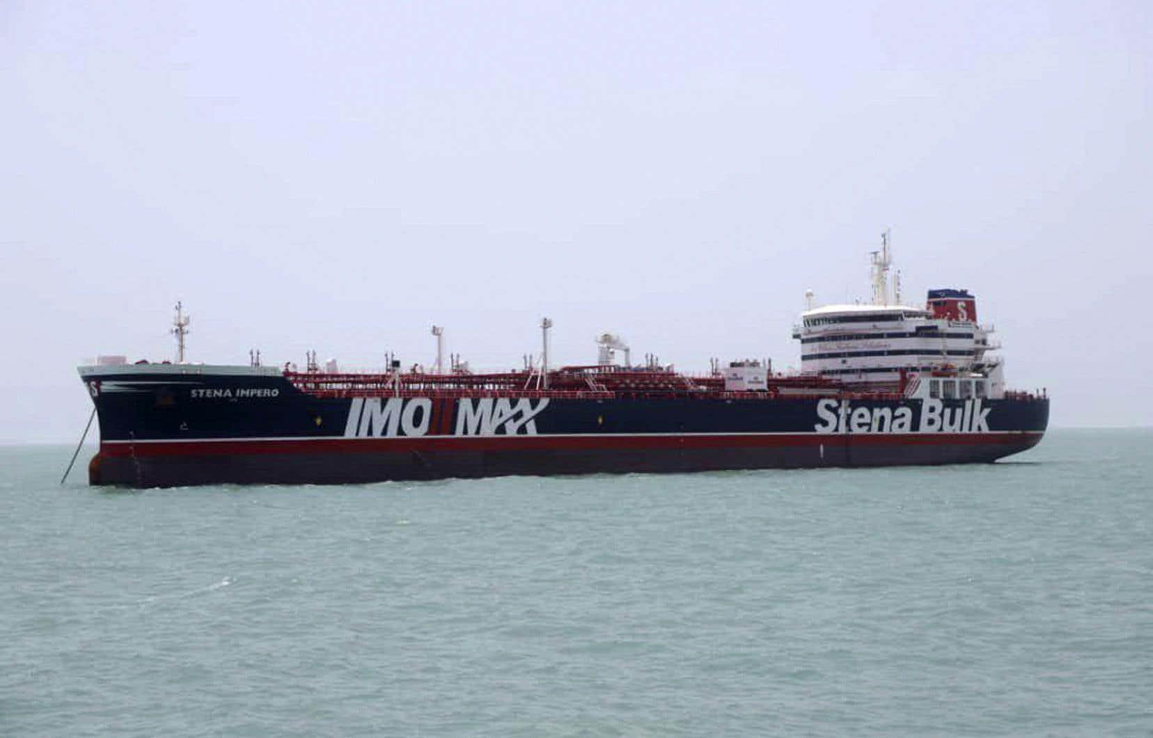 Le «Stena Impero» est arraisonné depuis vendredi par l'Iran.