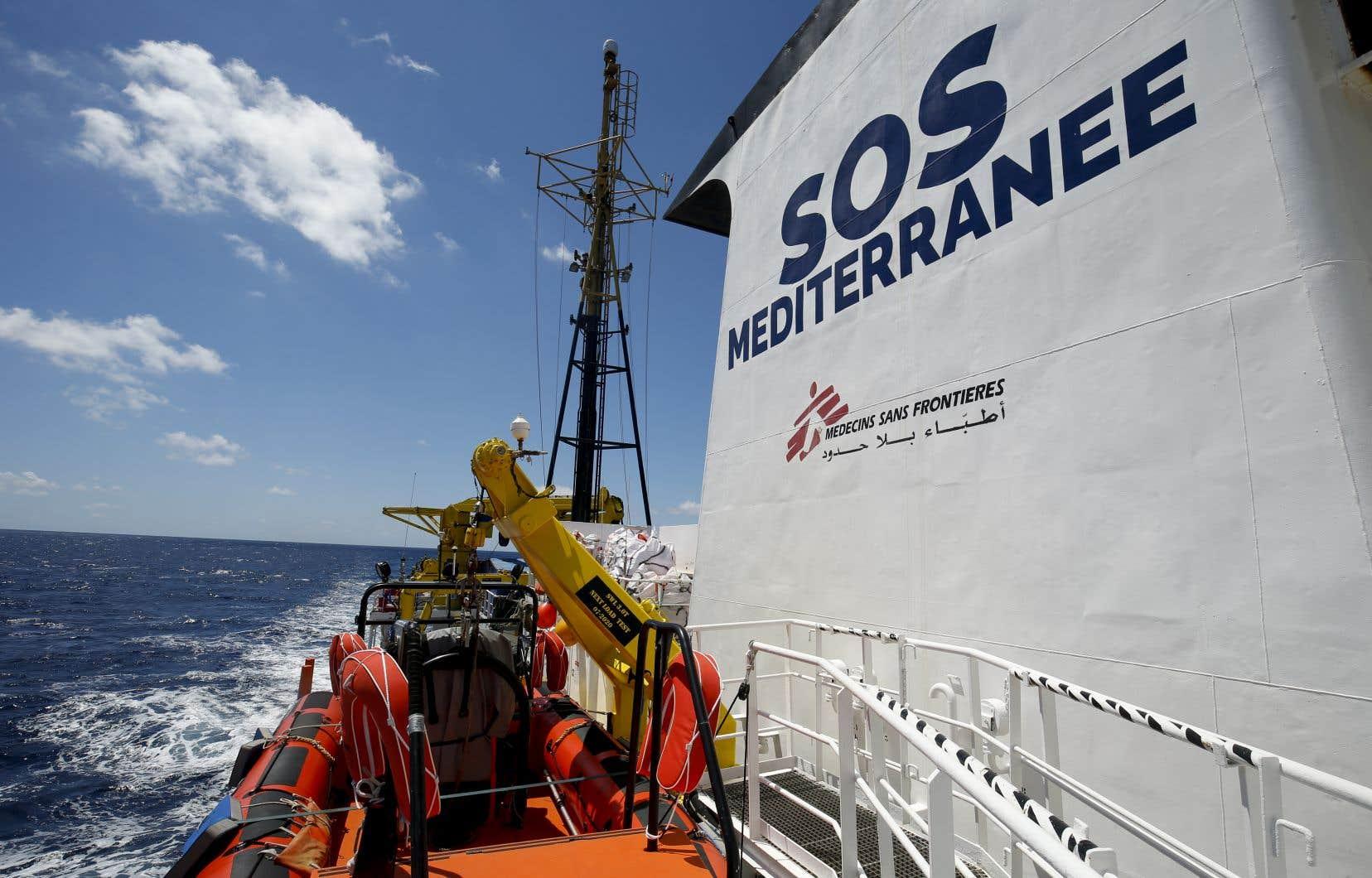 Le bateau va patrouiller en Méditerranée centrale, là d'où provient le plus grand nombre d'appels de détresse, mais sans jamais entrer dans les eaux territoriales libyennes.